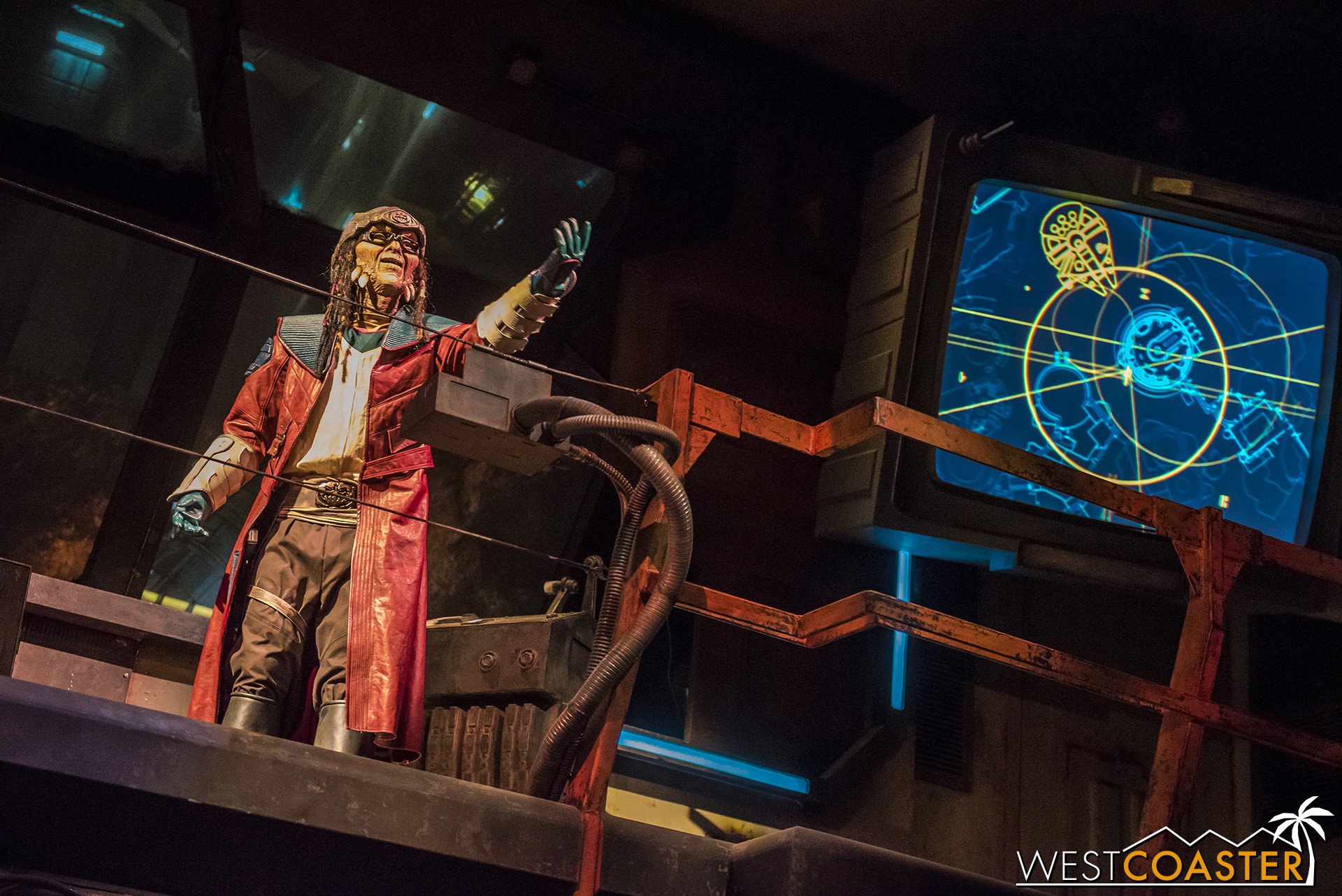 The Hondo Onaka audio-animatronic is the second or first most advanced AA ever built and one of many signs of the investment Disney poured into this land.