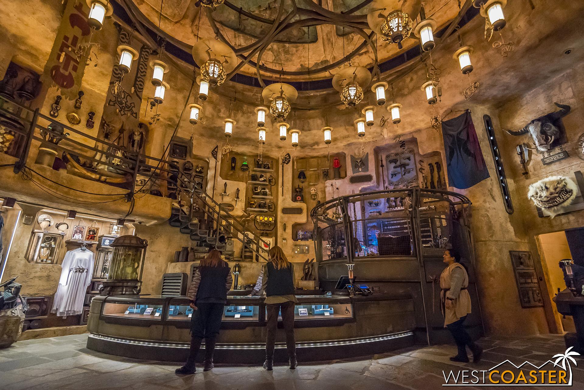 Dok-Ondar's Den of Antiquities has a plethora of treasures.