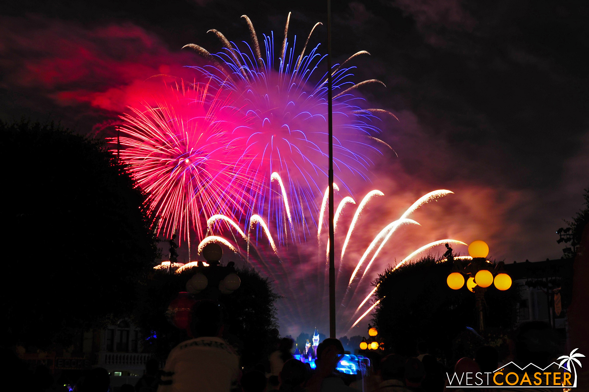 Disneyland will once again light up the skies with some patriotic pyrotechnics, as will many other places around town.