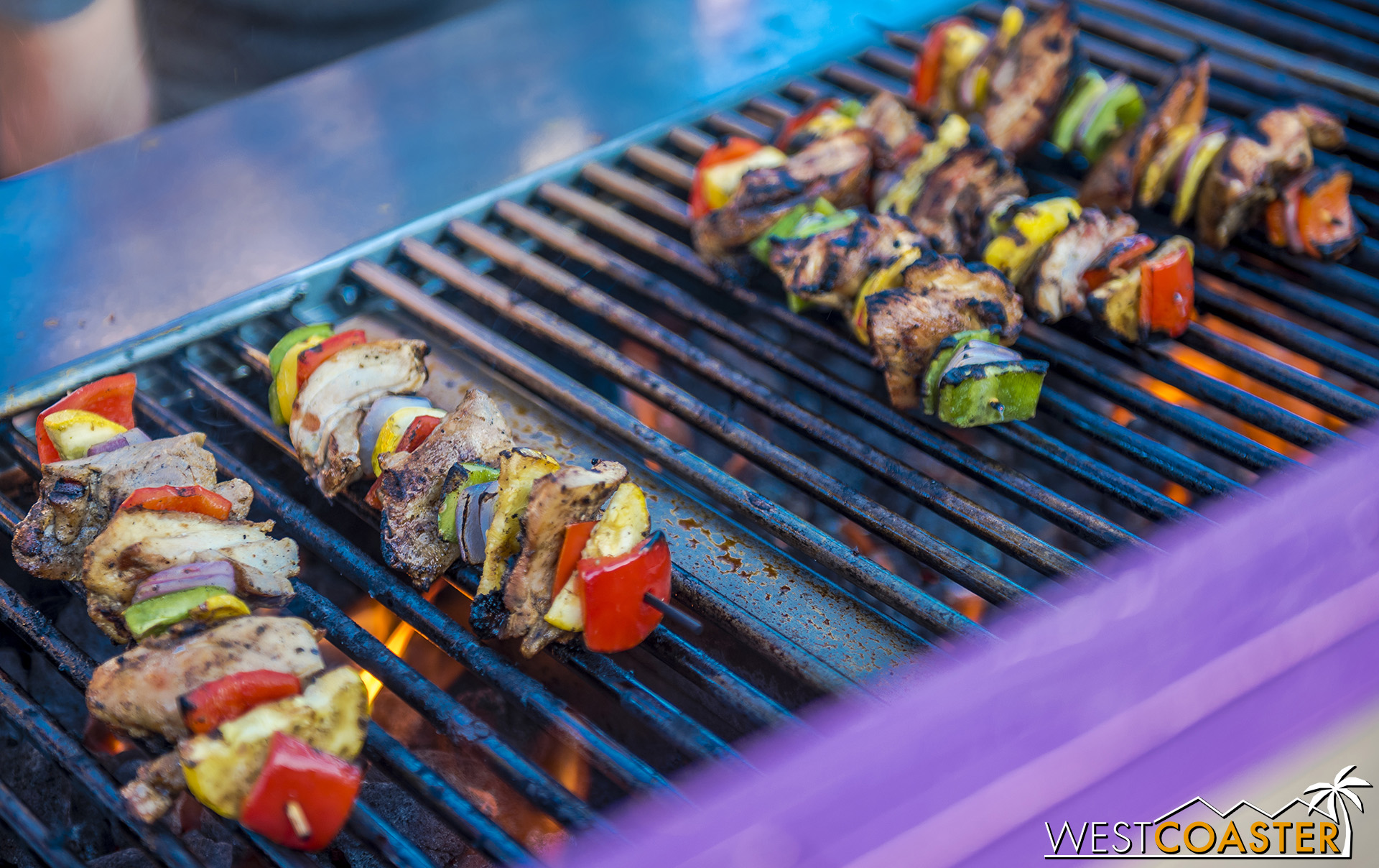 The skewers were pretty awesome.