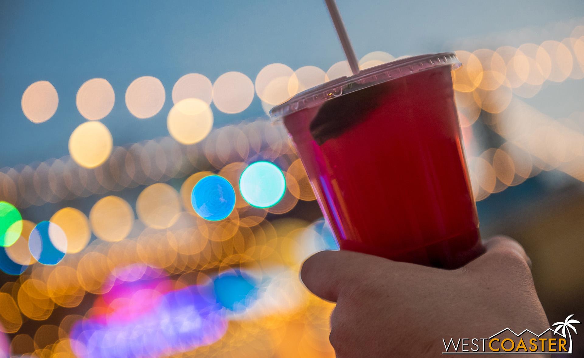 Boysenberry lemonade.