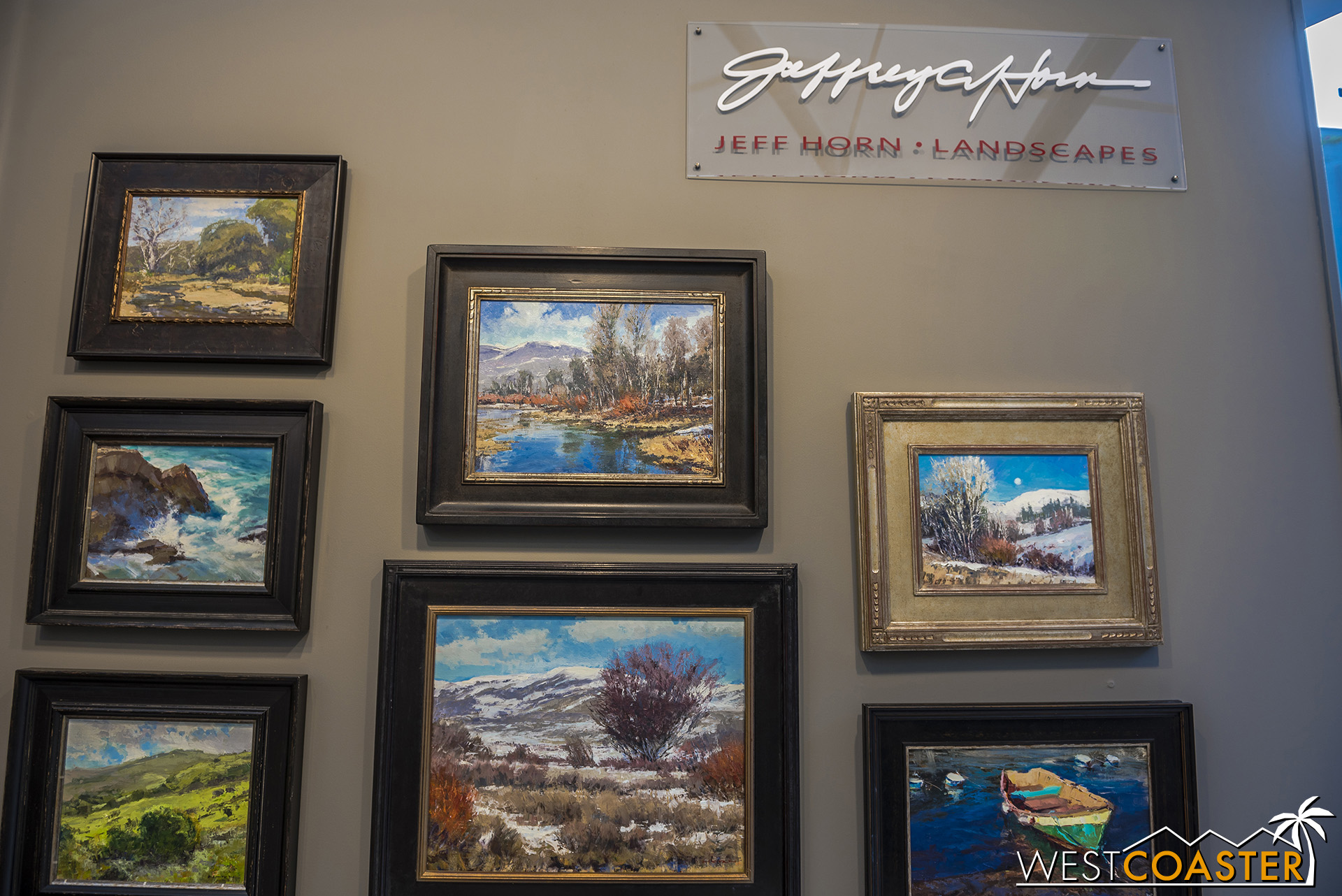 Jeff Horn has been painting landscapes for decades.