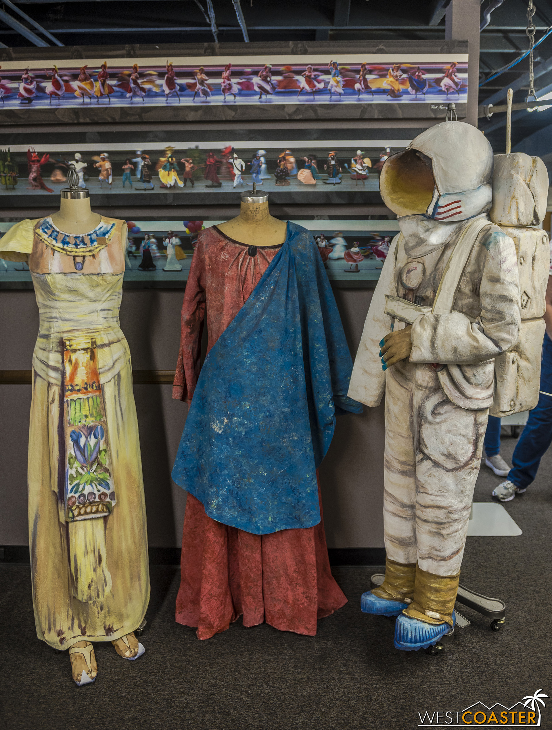 The costumers of the Pageant of the Masters are tasked with not only creating wardrobe that reproduces various artworks, but also making the color, texture, and illustrative aesthetic actually match.