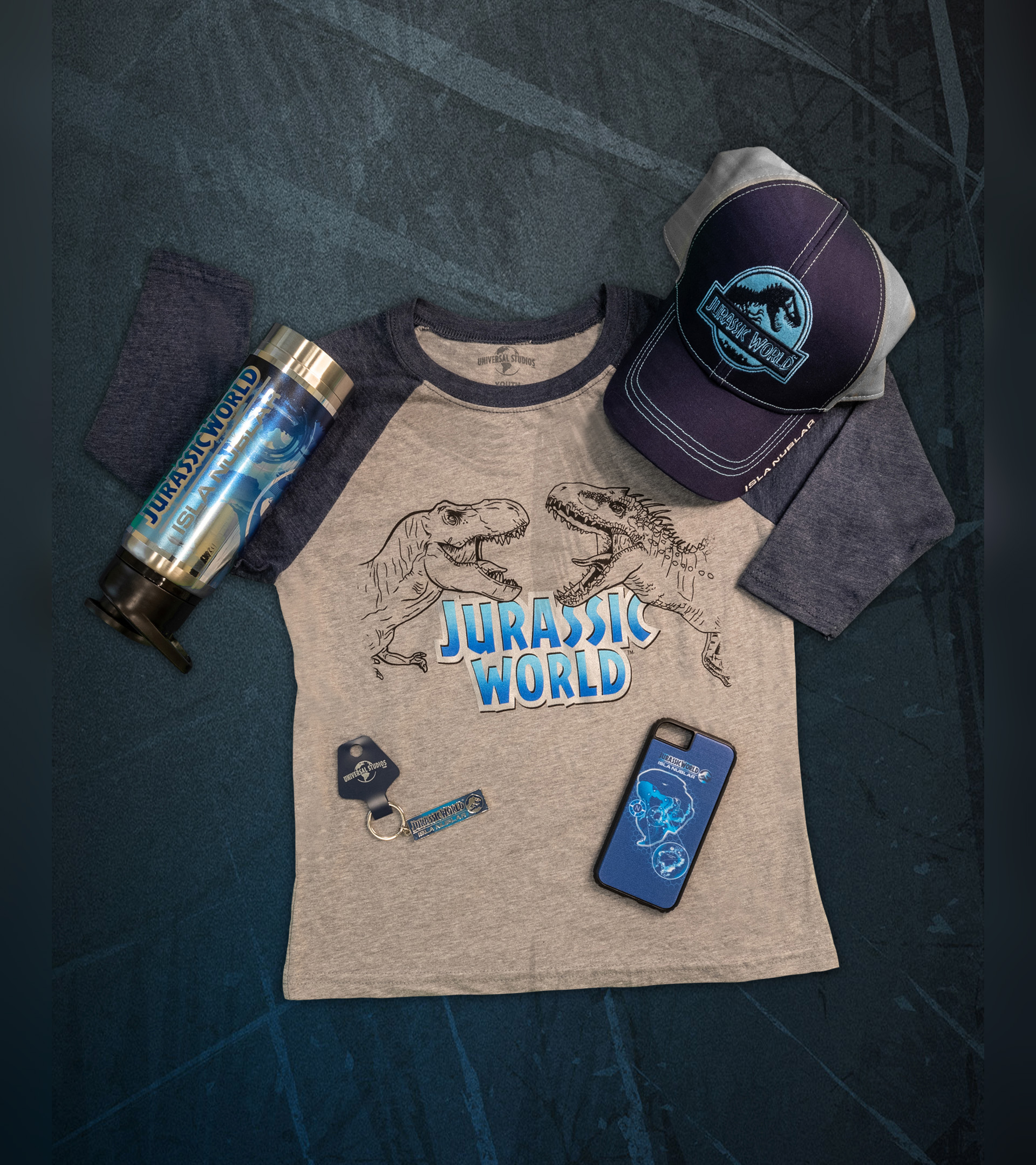 There will be plenty of merchandise available for Jurassic World: The Ride! (Photo courtesy of Universal Studios Hollywood.)