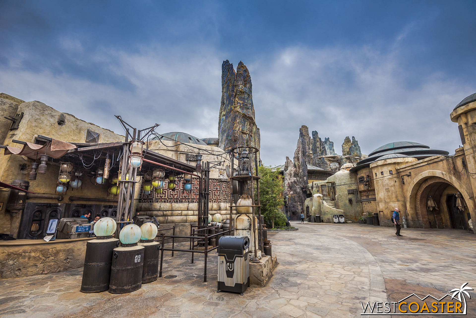 Welcome to the Milk Stand! One of the stops in Batuu.