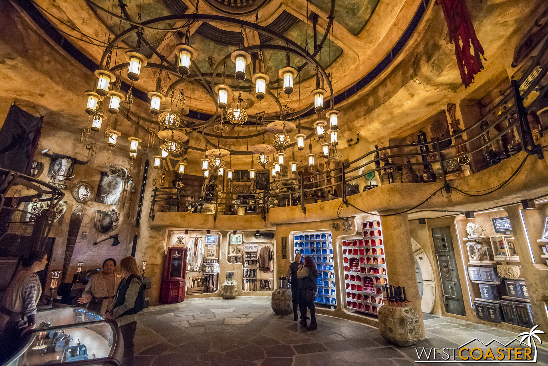 A look inside the lavish shop.