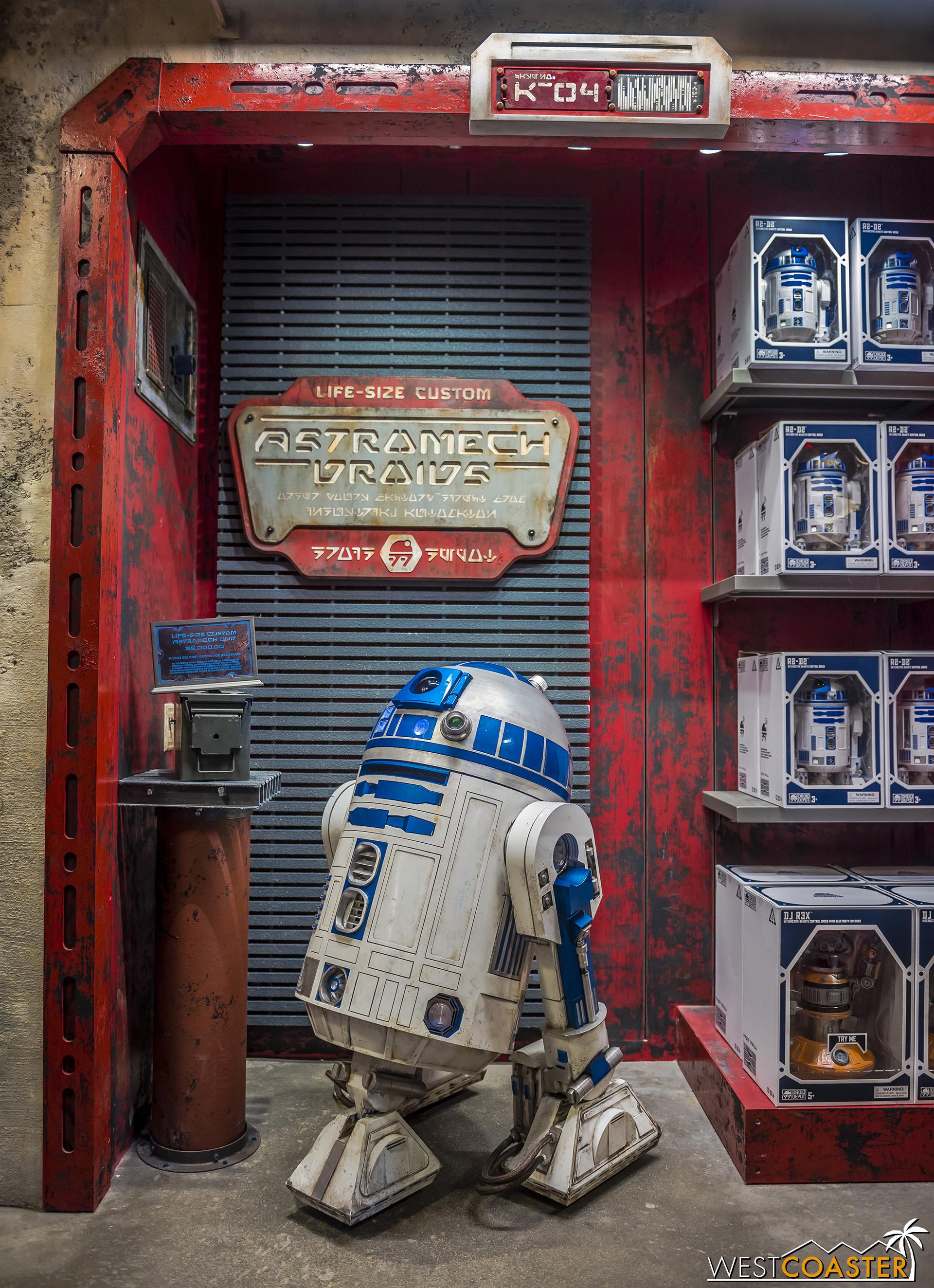 Plus a life-size R2-D2!