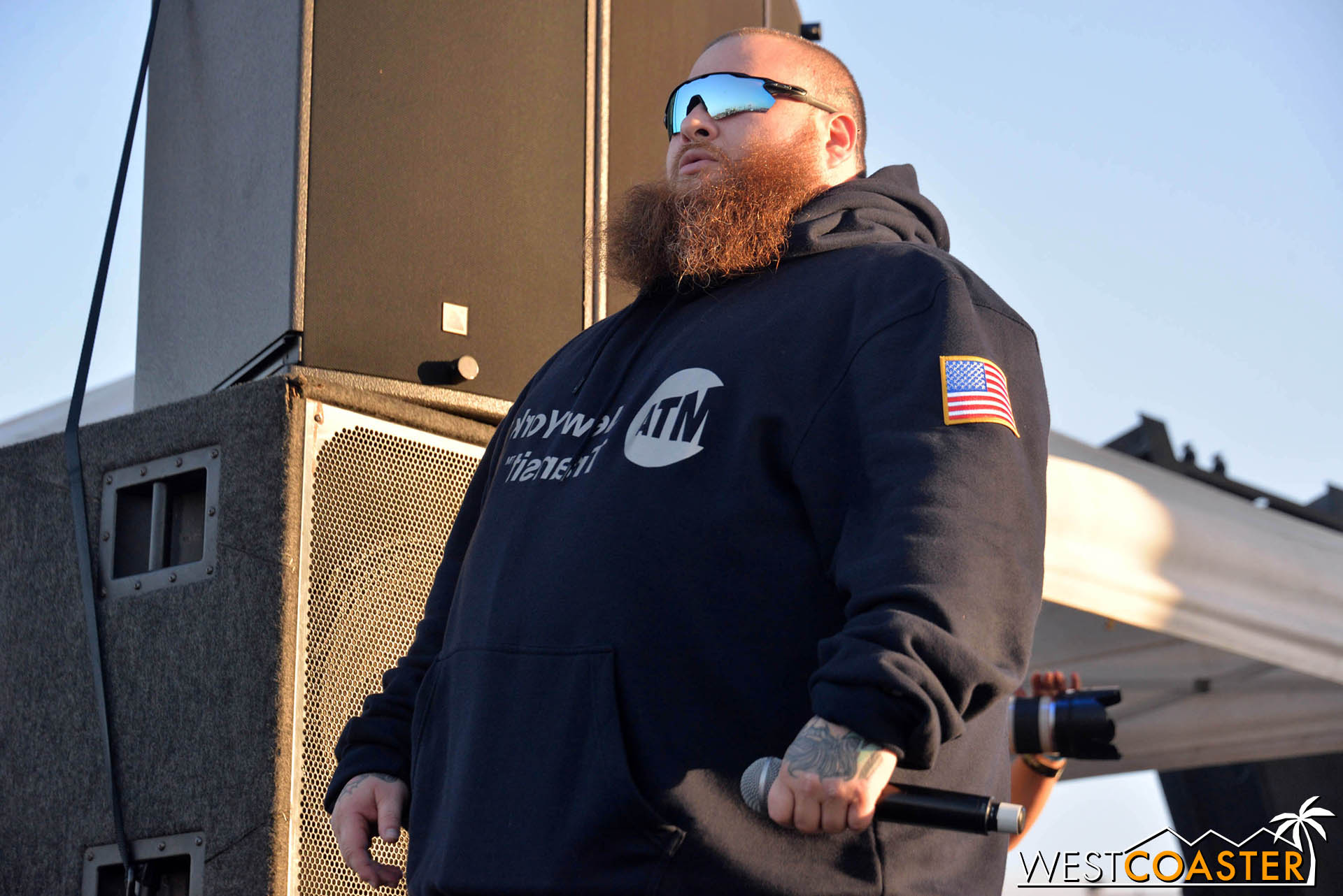 Action Bronson at GnarlyTown Festival.