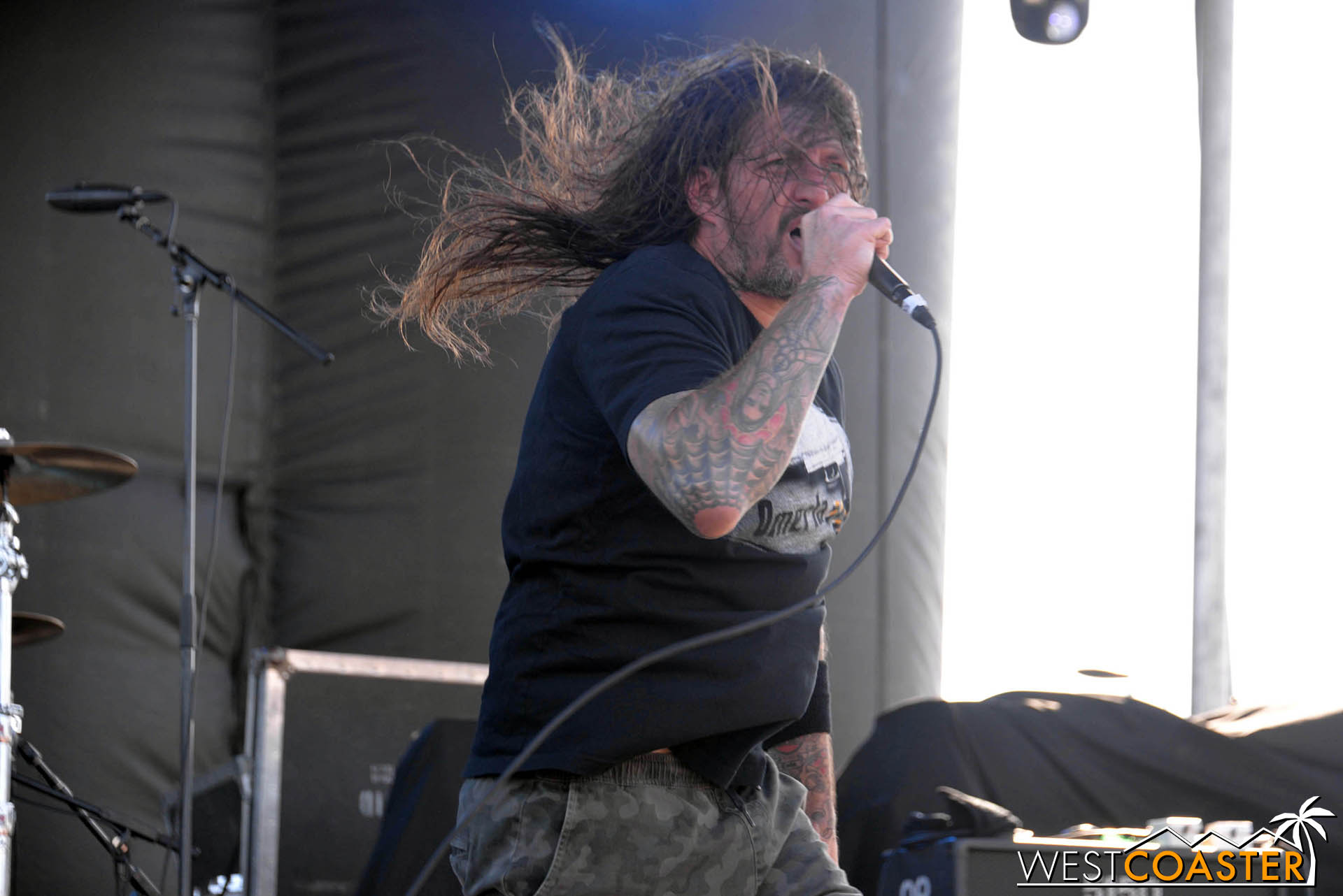 Madball performing at GnarlyTown Festival.