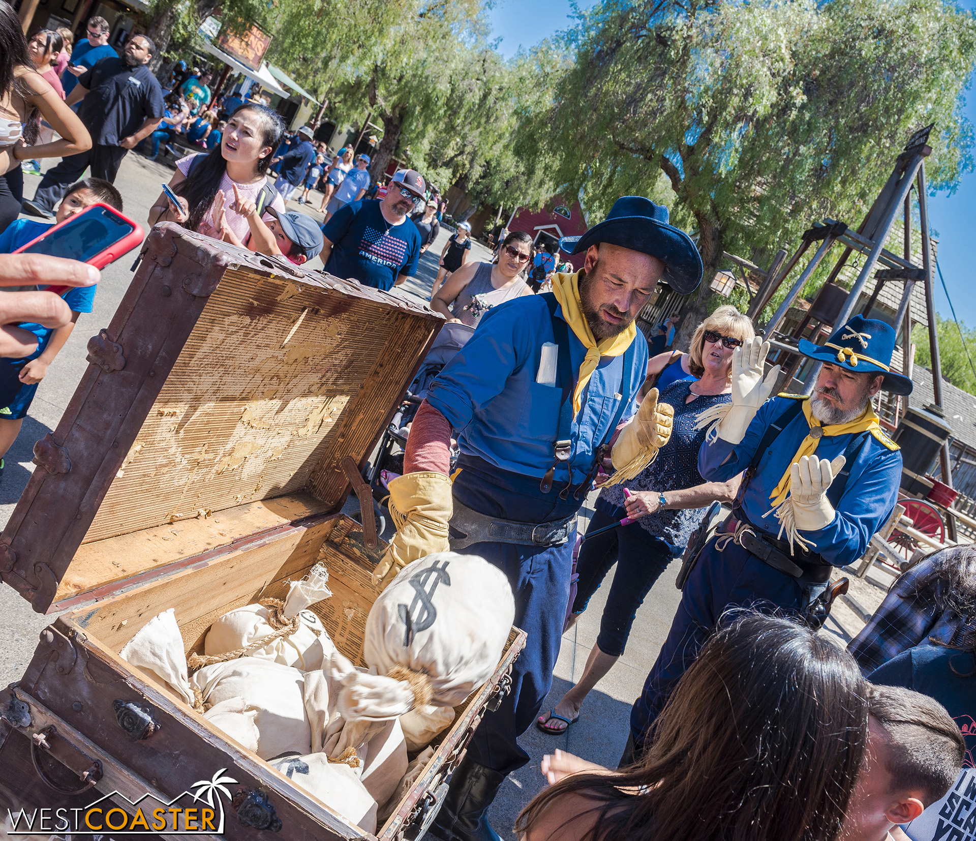 Hudson and Brady propose that the only way to protect Calico is to have everyone in town place their valuables in this U.S. Cavalry chest, which would then be guarded 24 hours a day by the Cavalry members.