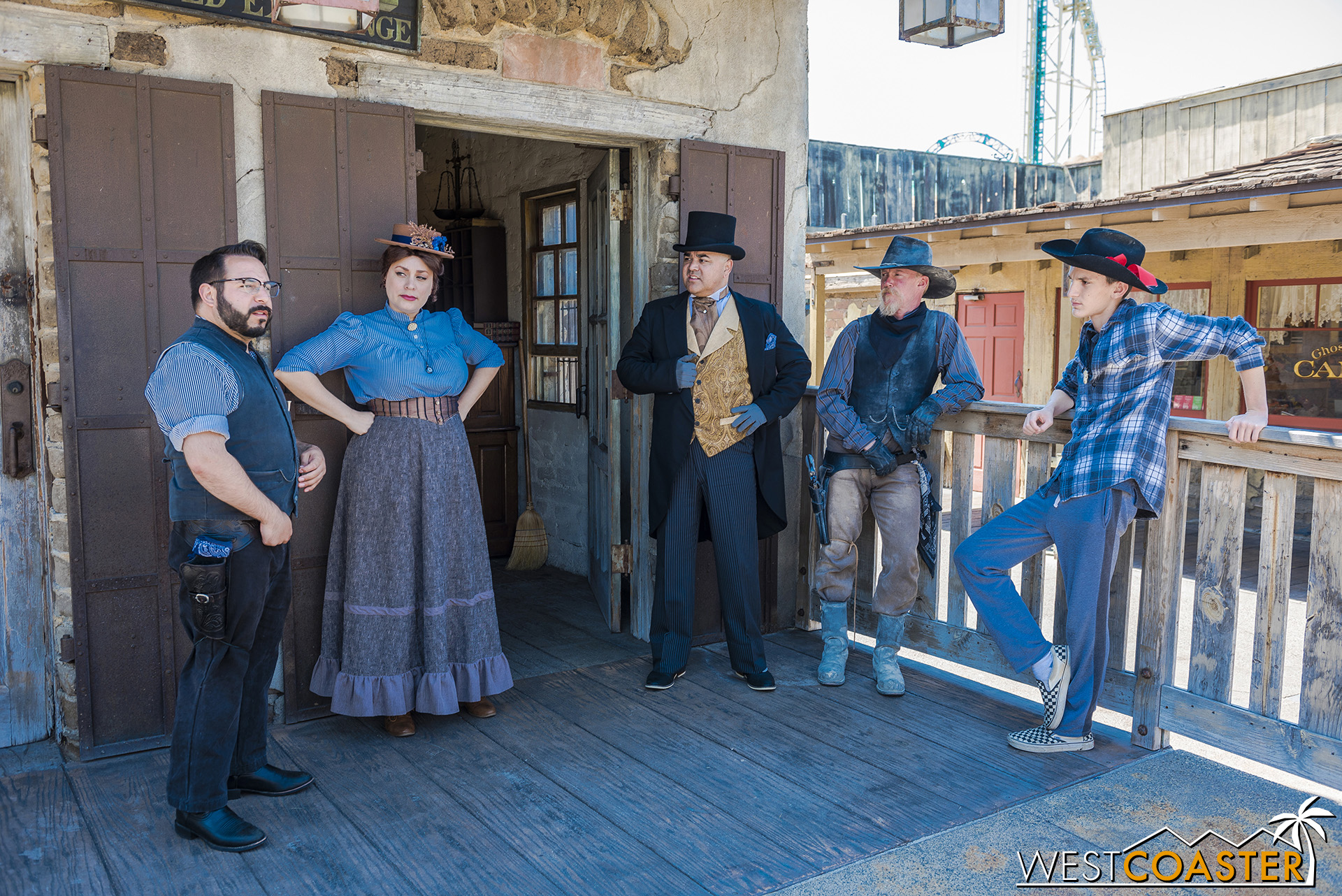 After the Cavalry takes the chest away to guard it by the Sheriff's Office, the Citizens discuss what just occurred.  Something seems just a bit off, but if you can't trust the U.S. Government with your belongings, who can you trust?