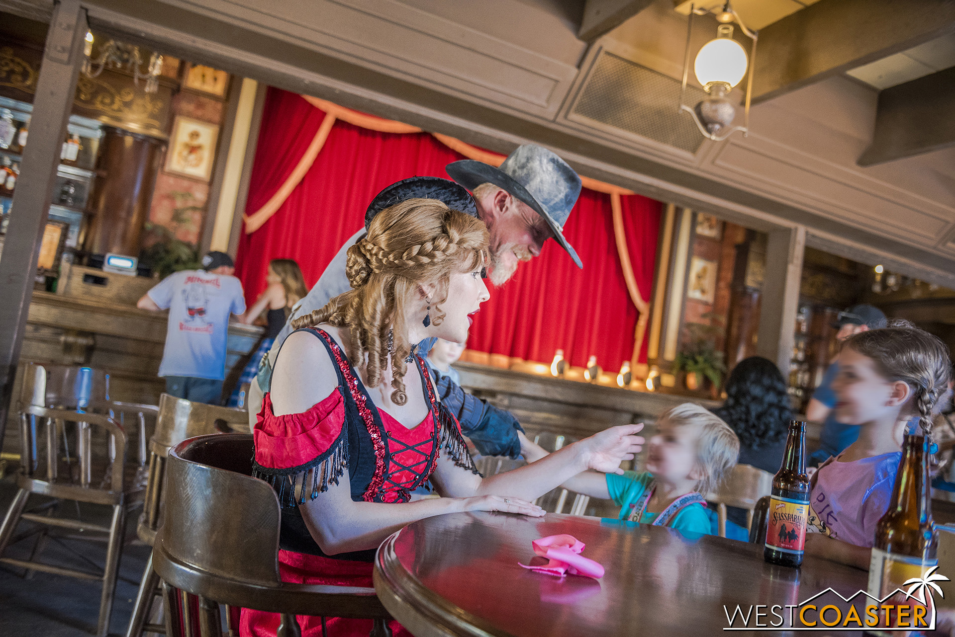 Violet Lee spends much of her time at the Calico Saloon these days.