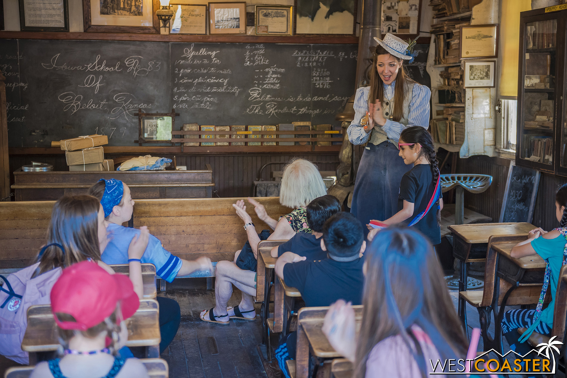 The School House is a common place of guest interaction.