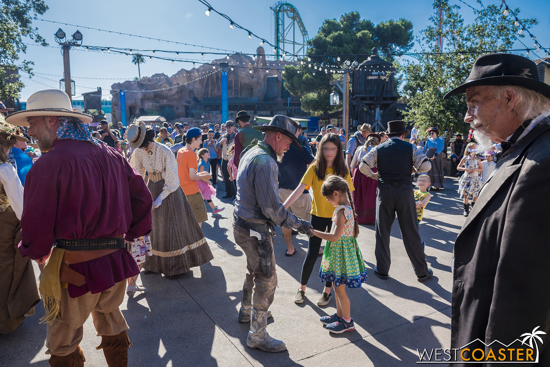 The Hoedown is the culmination of guest interaction that has occurred throughout the day.