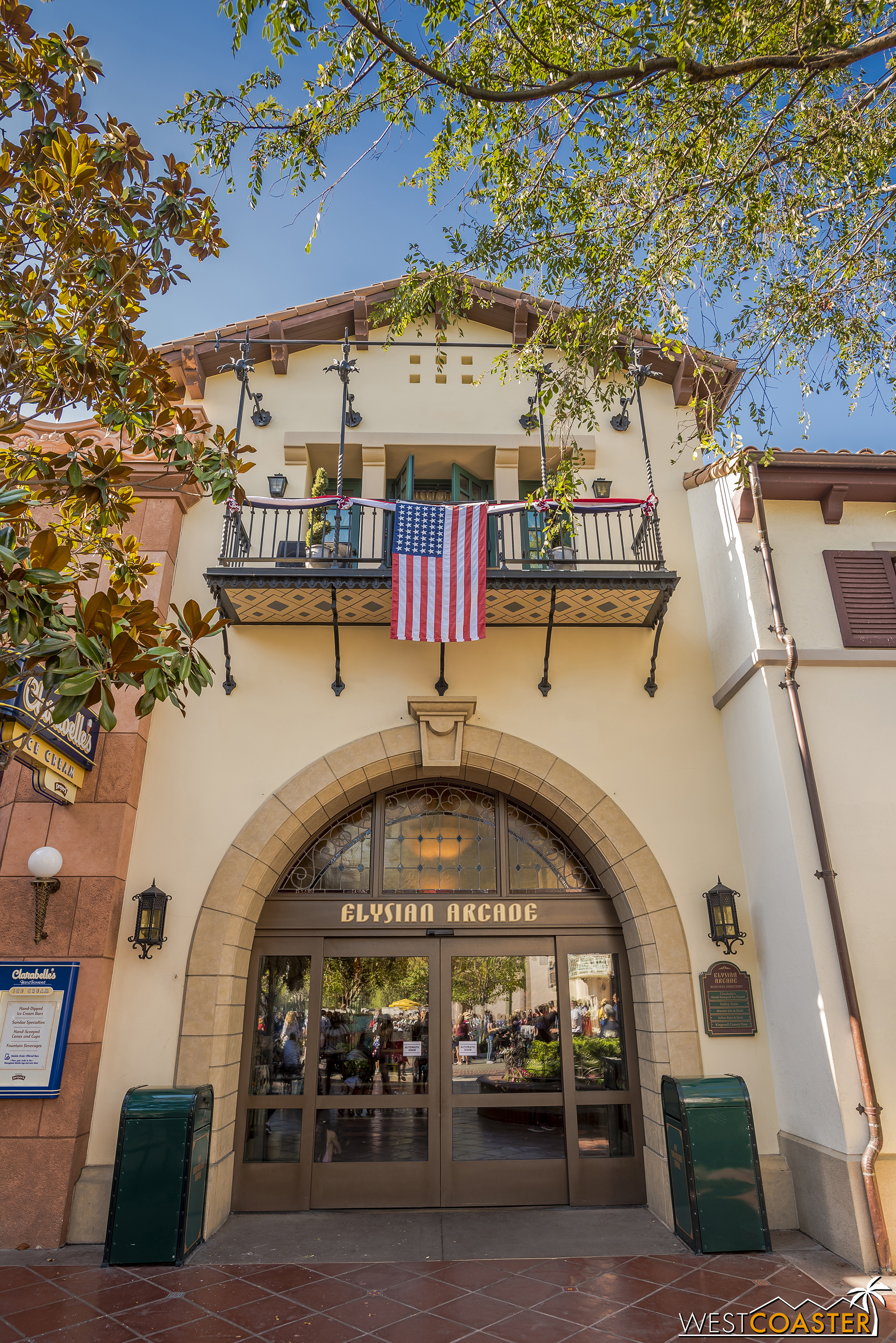 Buena Vista Street celebrates the country's heritage everywhere.