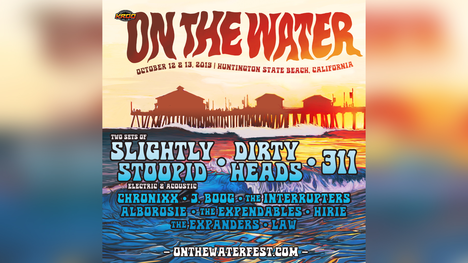 Poster courtesy of On the Water Festival.