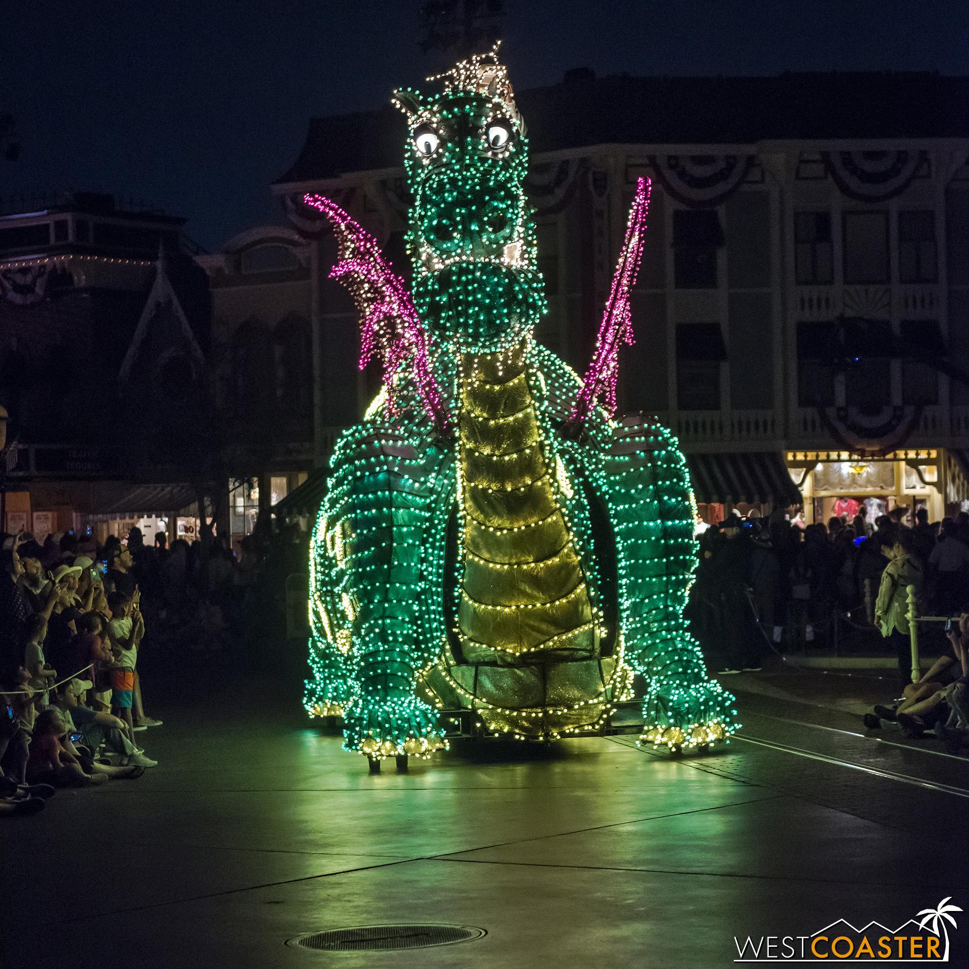 Parade favorite, Pete's Dragon is next.