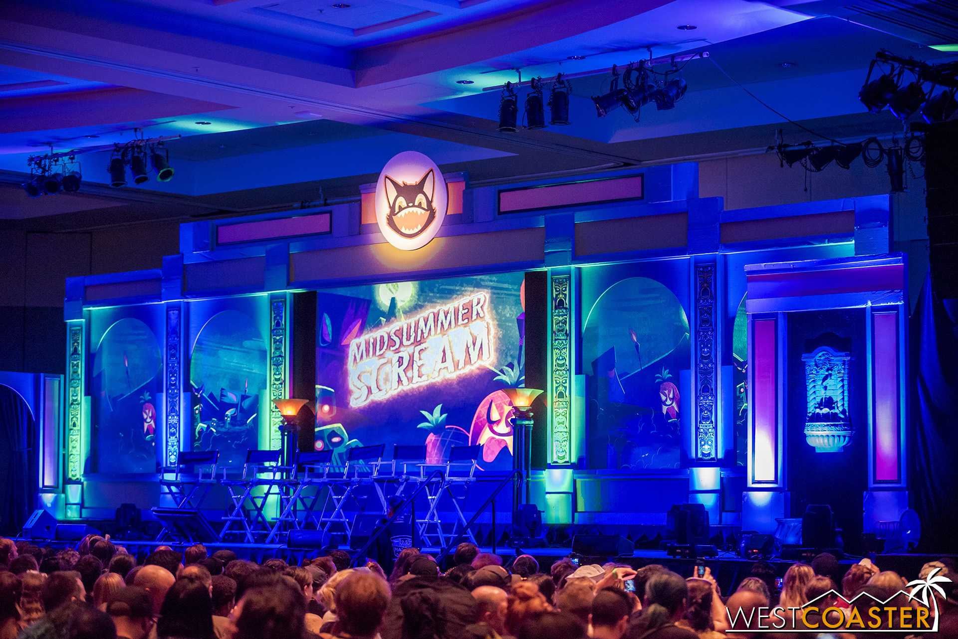 The Grand Ballroom was home to the big name presentations of the weekend.
