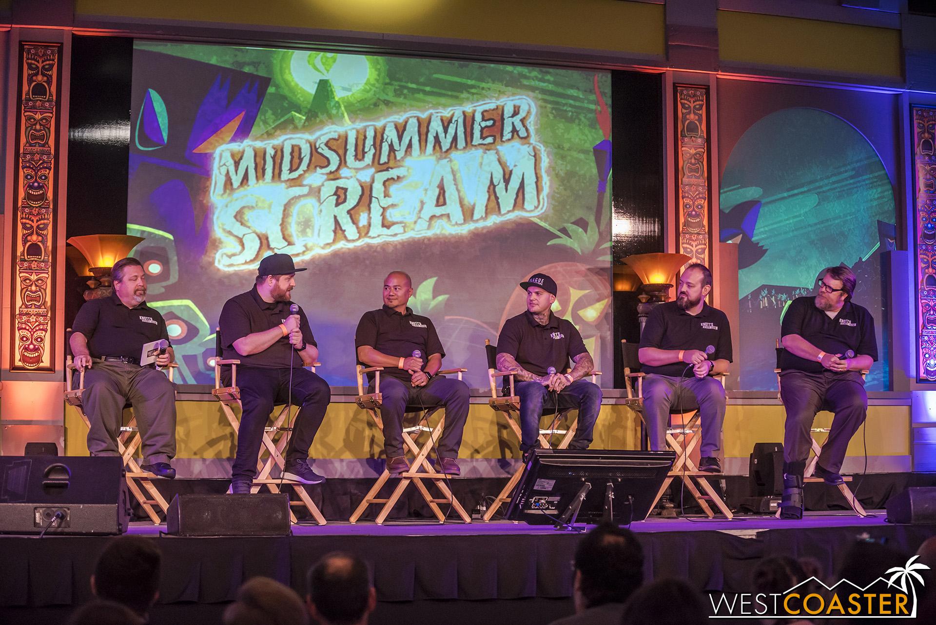 Left to right, Jeff Tucker, Dan Bieranowski, Jon Aspirin, Jon Cooke, Eric Nix, and Ken Parks.