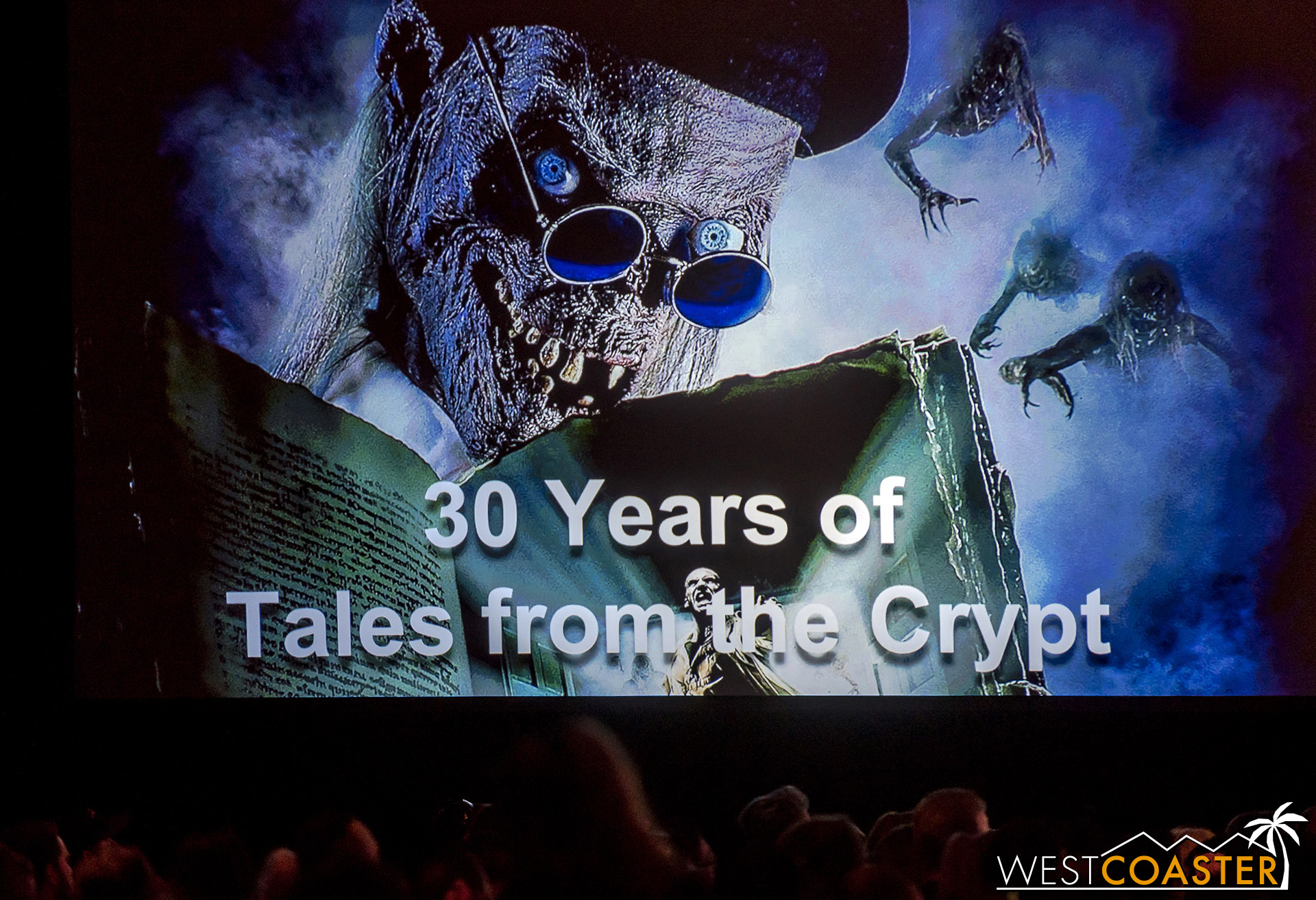 Tales from the Crypt  fans enjoyed a great hour-long discussion with the show's creators and principal players.