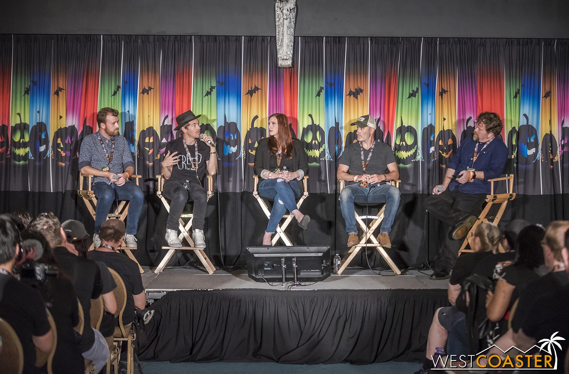 Left to right: Aaron Keeling, Justin Fix, Bonnie Hallman, Jon Braver, and moderator Noah Nelson.
