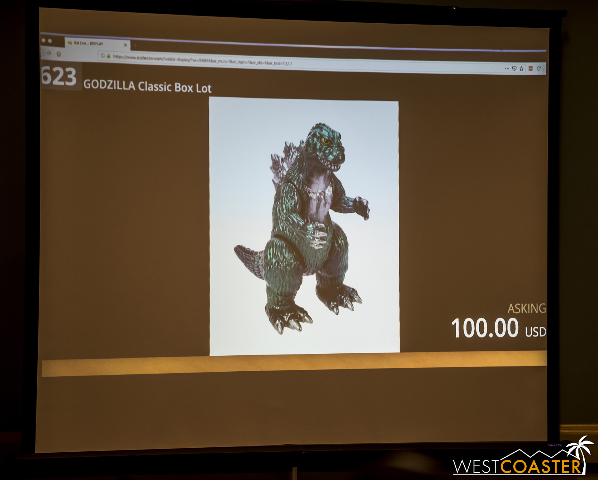 For example, this Godzilla figure.