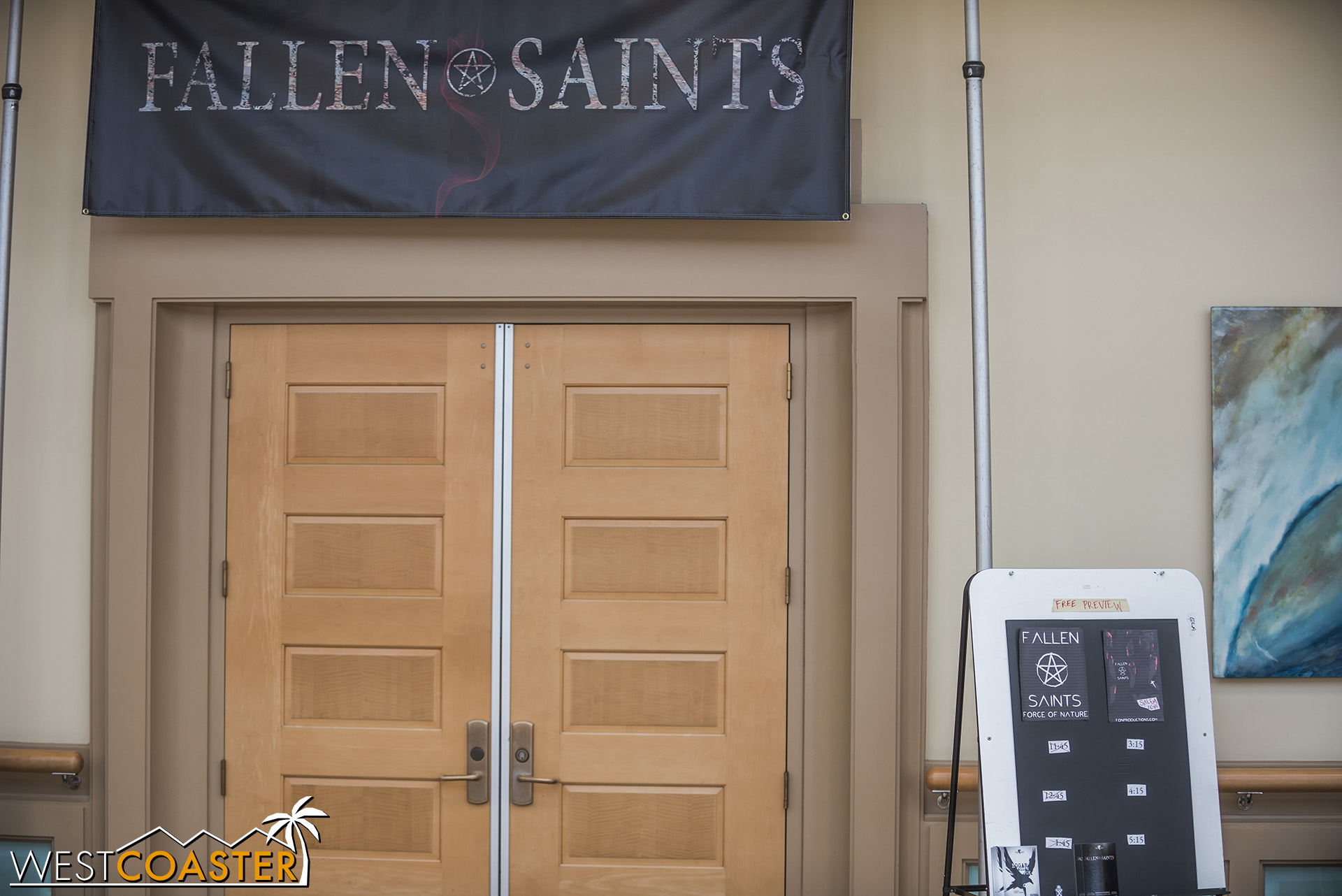 Fallen Saints was just a little down the hall from Urban Death.