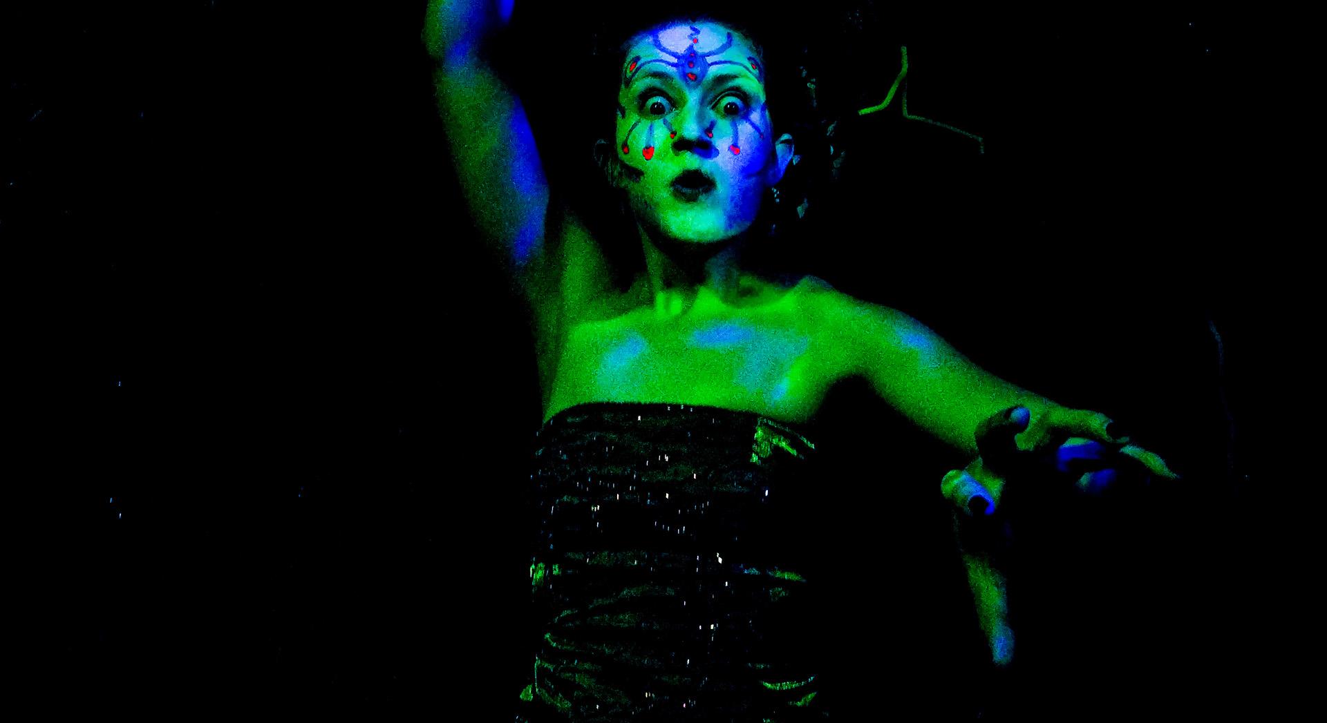 Photo by Brandon Slezak, courtesy of Zombie Joe's Underground Theatre.