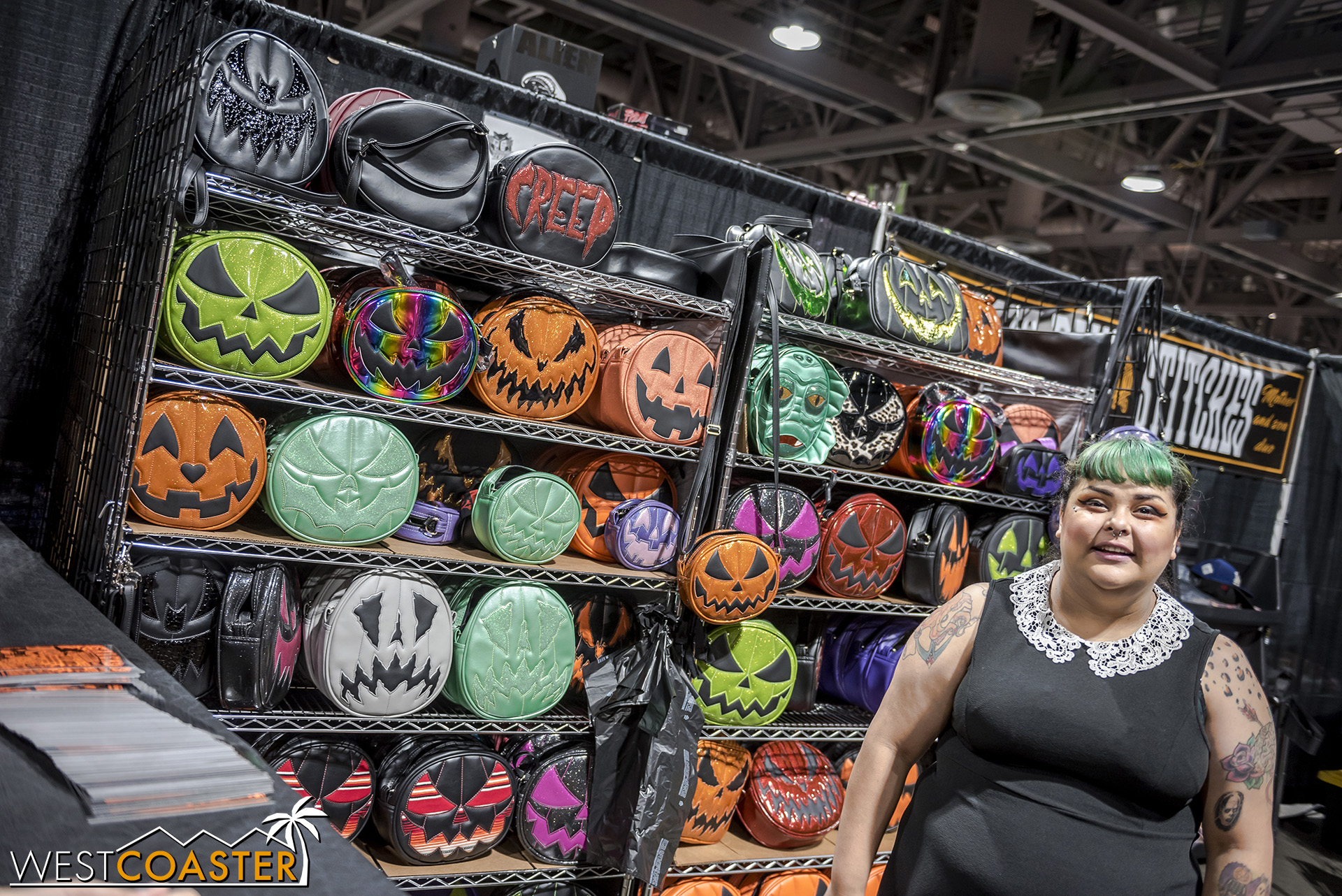 There was a huge line for these purses on Saturday morning before Midsummer Scream even opened to the general public!