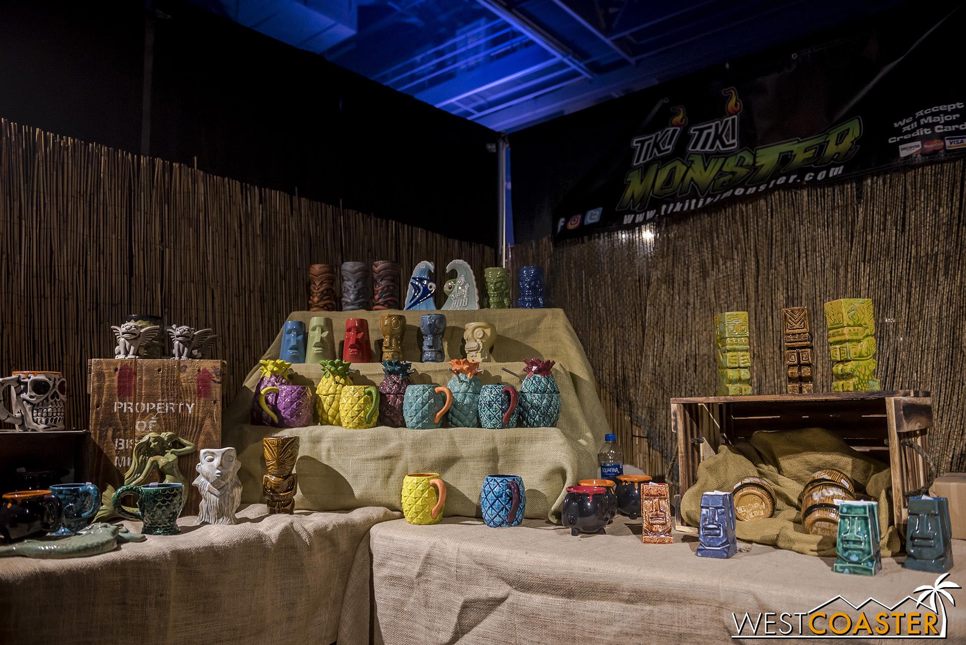 Tiki Tiki Monster  offered some great monster tiki mugs for sale.