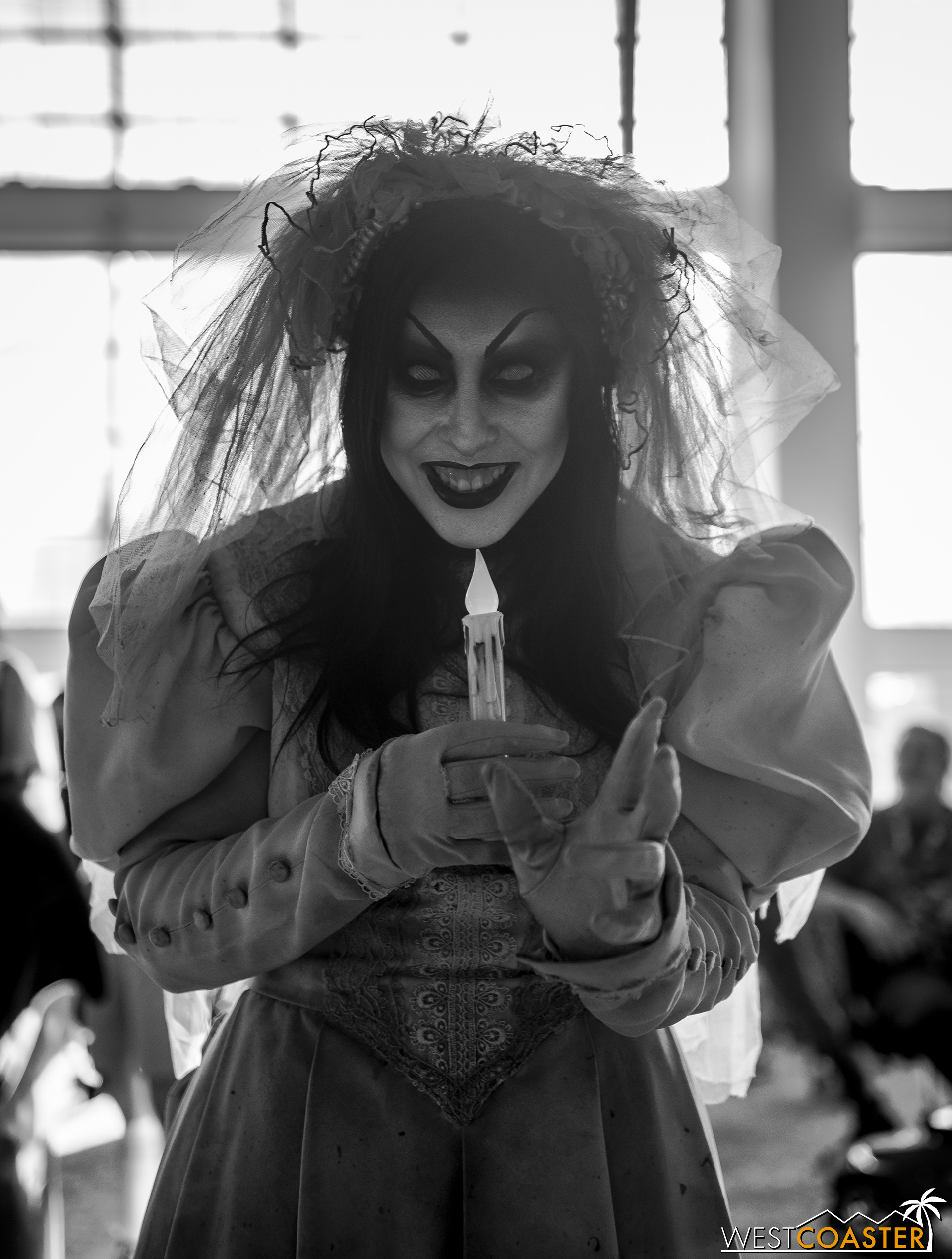 The Bride demands your silence as she seizes your soul…