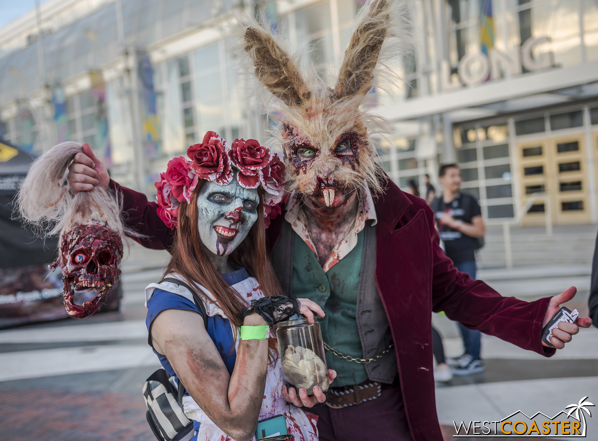 Just a regular demented Alice and March Hare. Not a Fright Fest one at all.