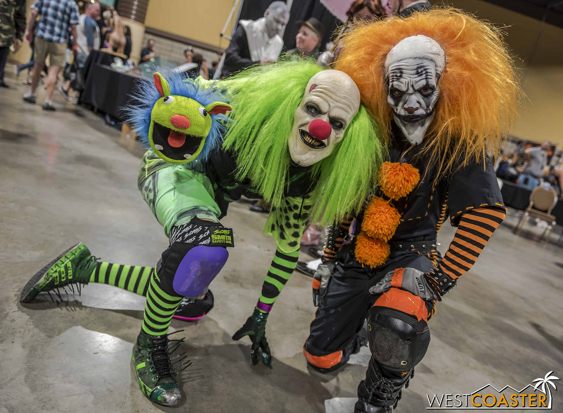 These are most definitely not officially Fright Fest clowns.