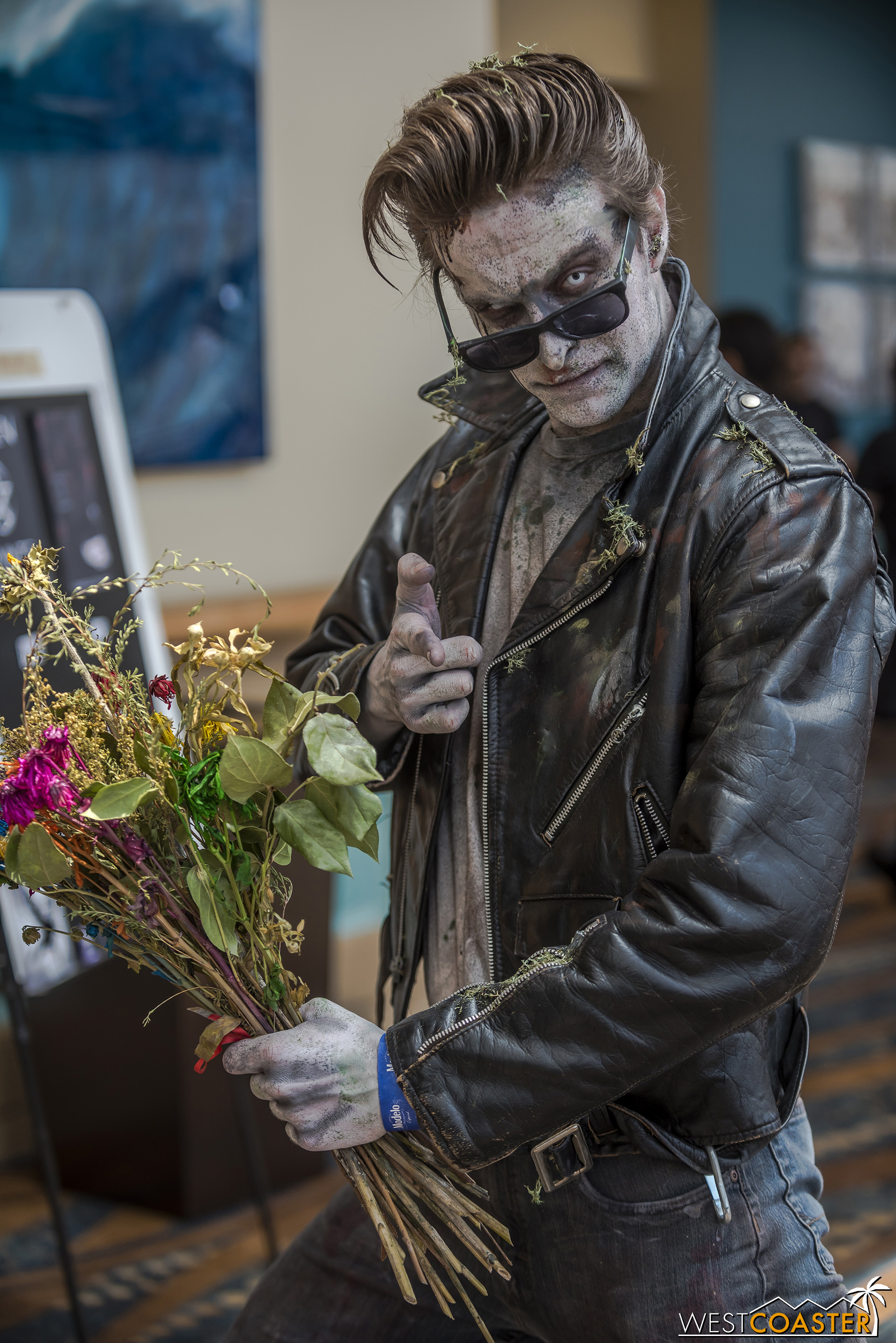 Zombie greaser was most charismatic.