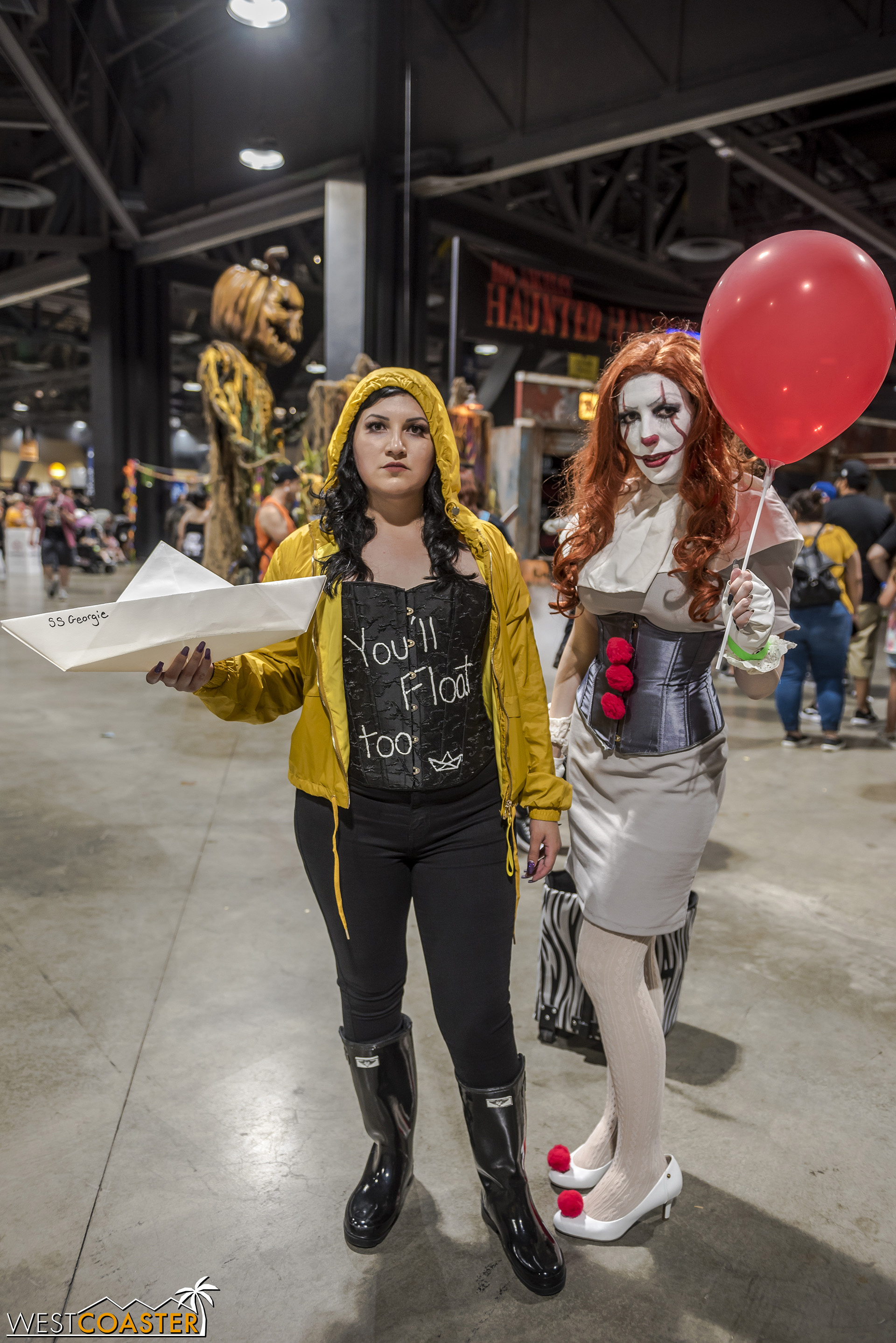 Gender-bending Georgie and Pennywise were a delight.
