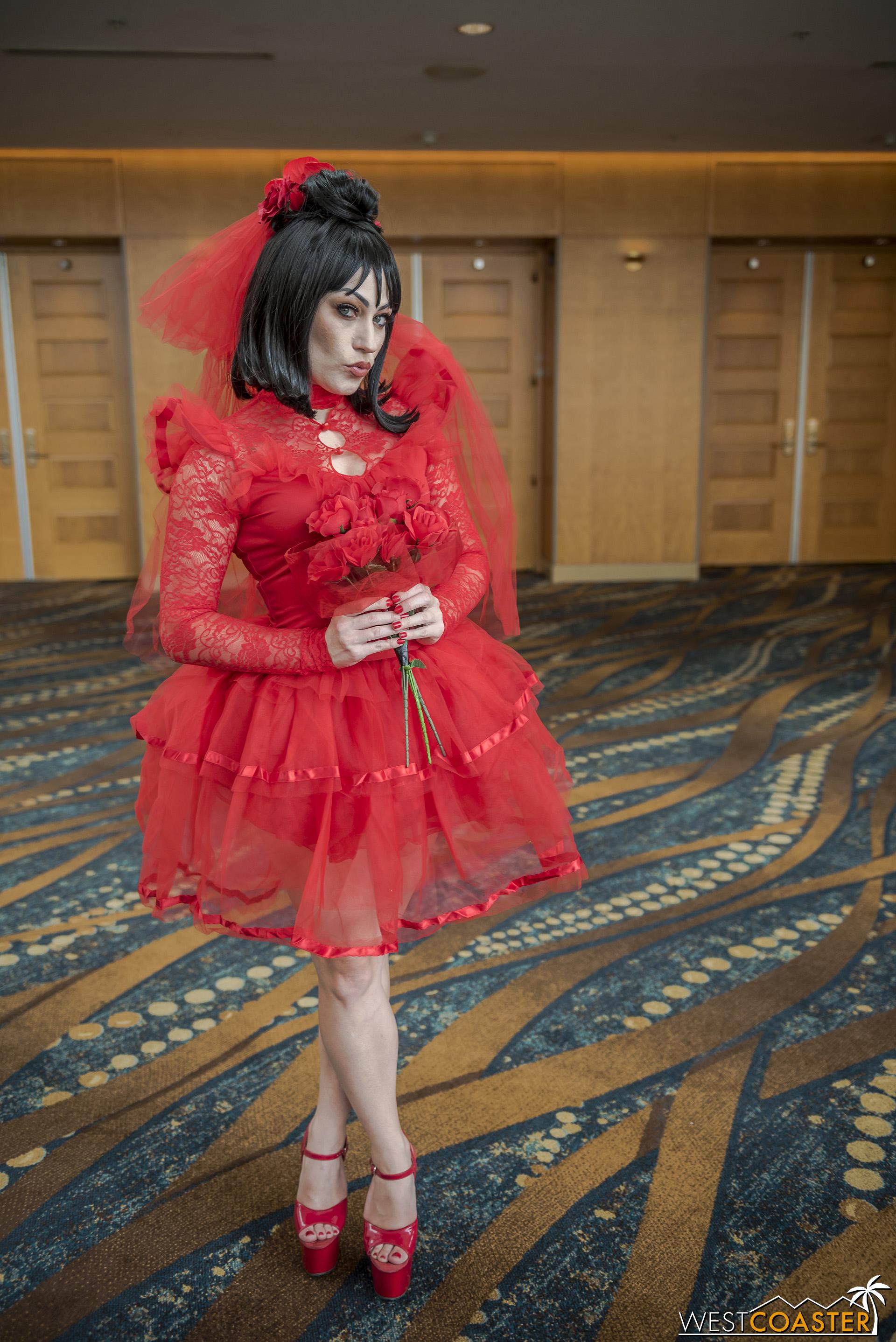 Red  Rachel Hollon  at Midsummer Scream.