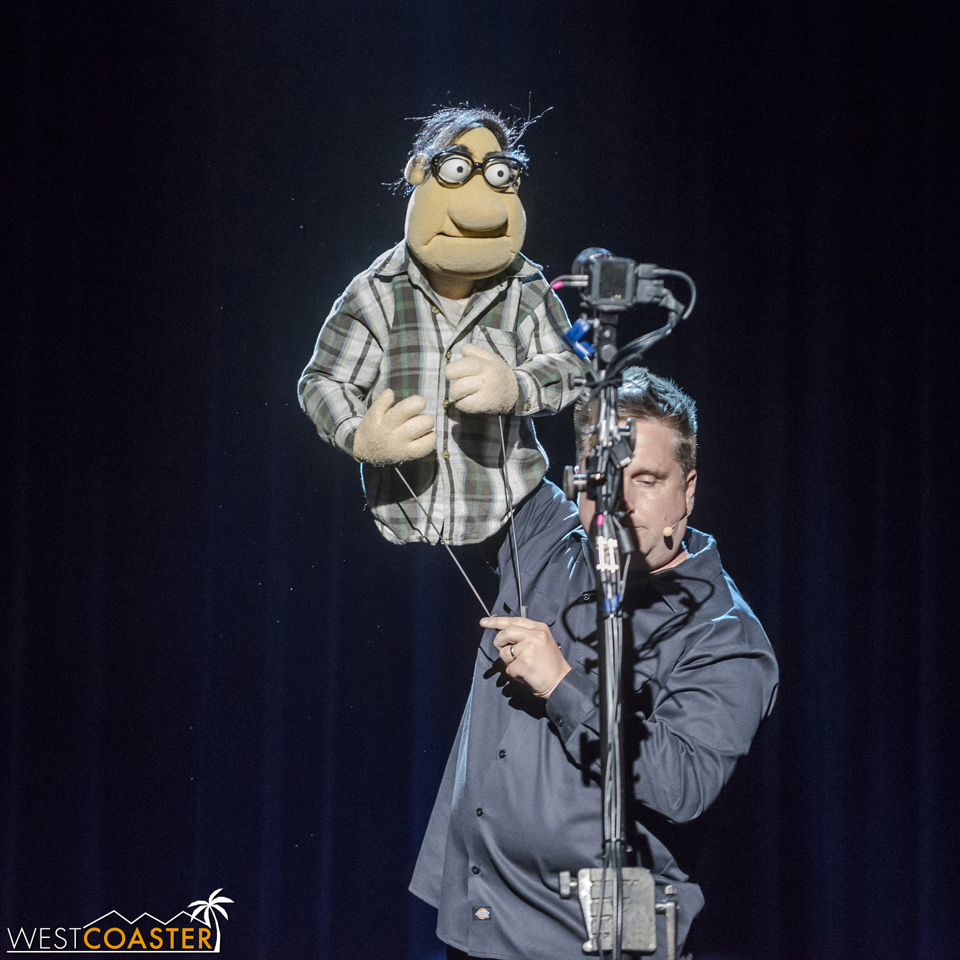 Grant Baciocco's Muppet explains what Puppet Up is all about.
