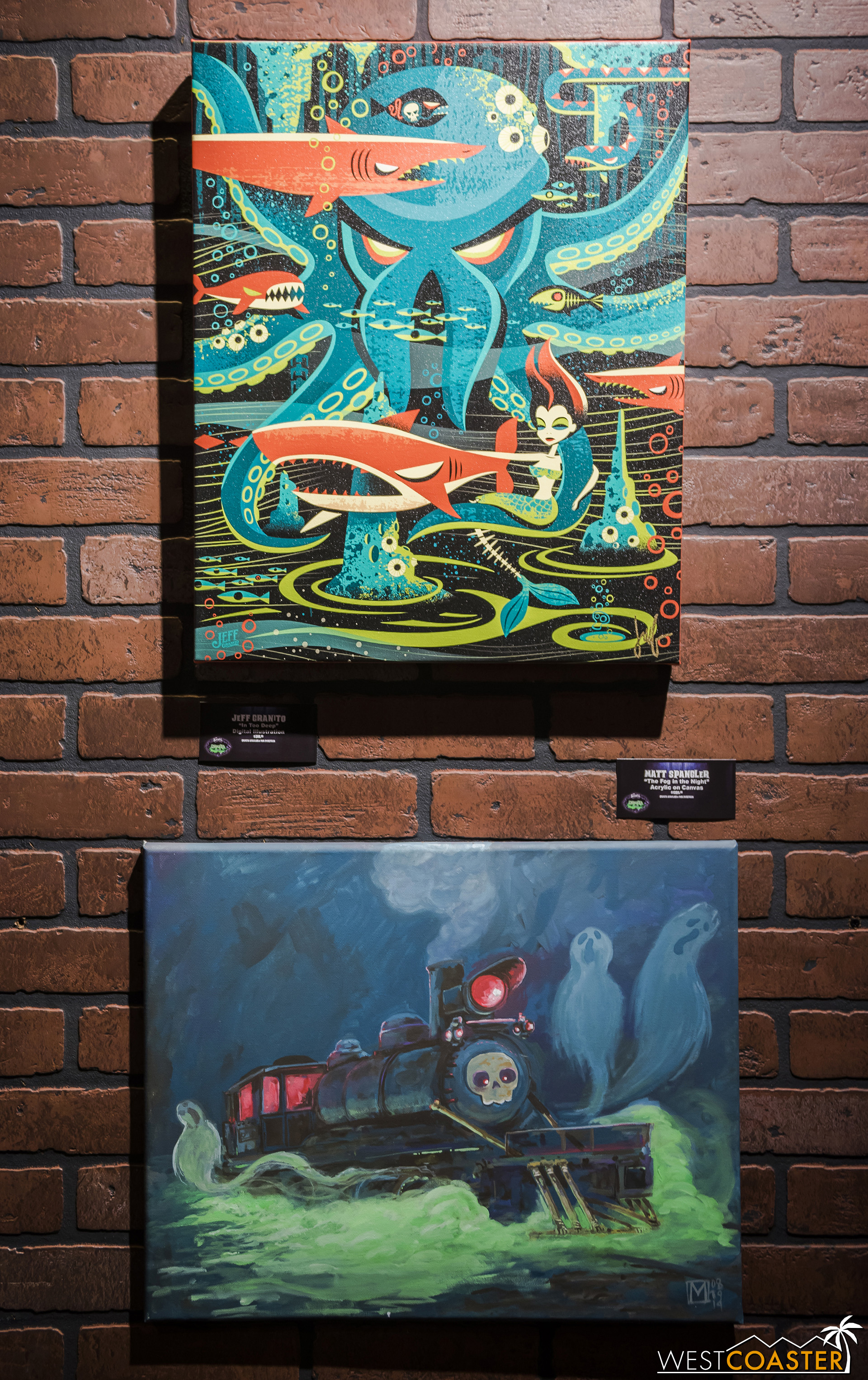 Tiki artist, Jeff Granito contributed to the gallery as well!
