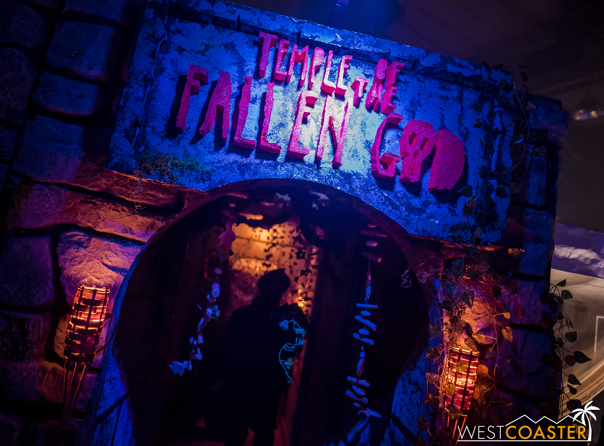 Journey into the cursed jungle wilderness in this Bellflower home haunt!