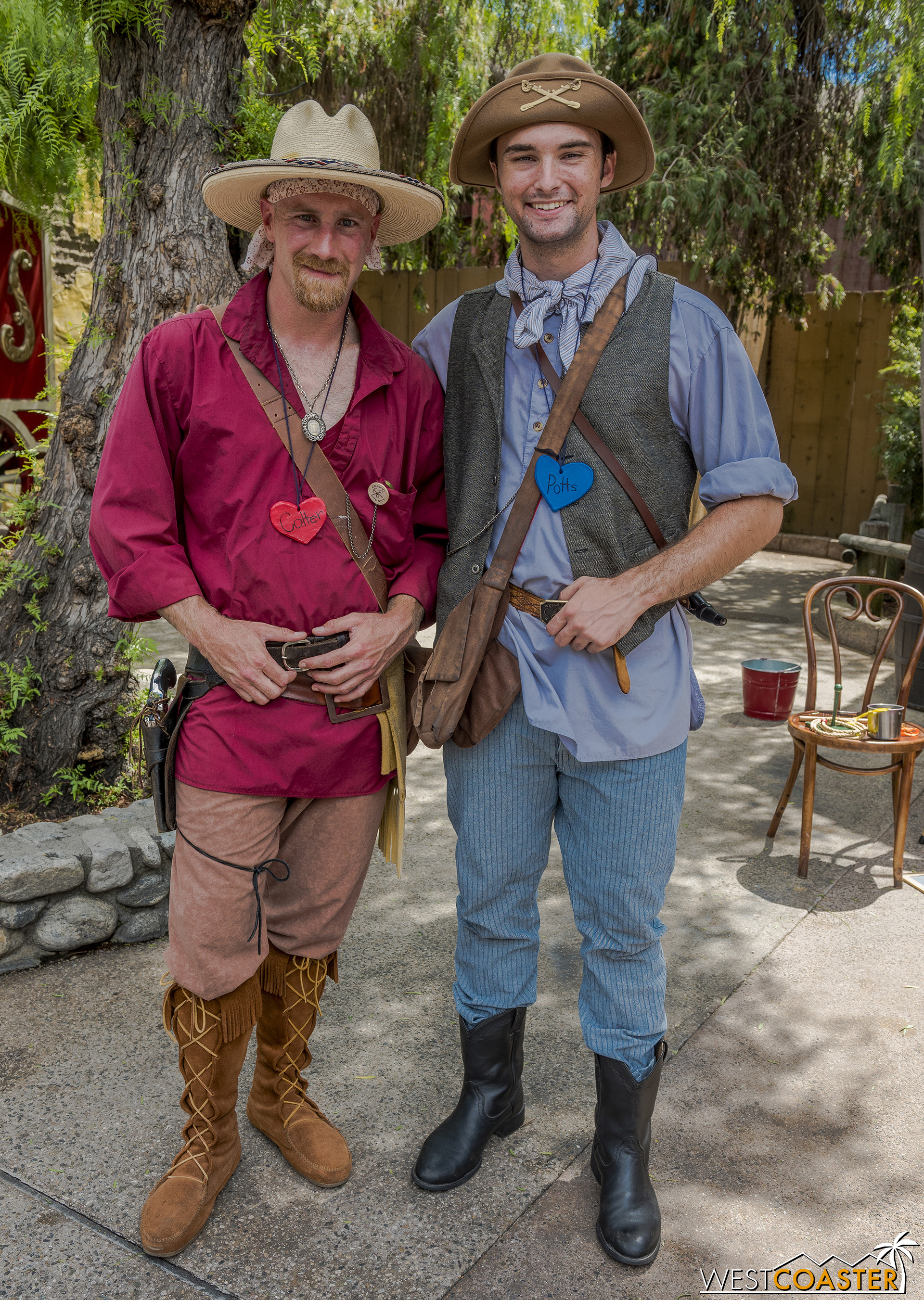 John Colter and John Potts are the explorers and adventurers who have been seeking fantastical beasts all summer.