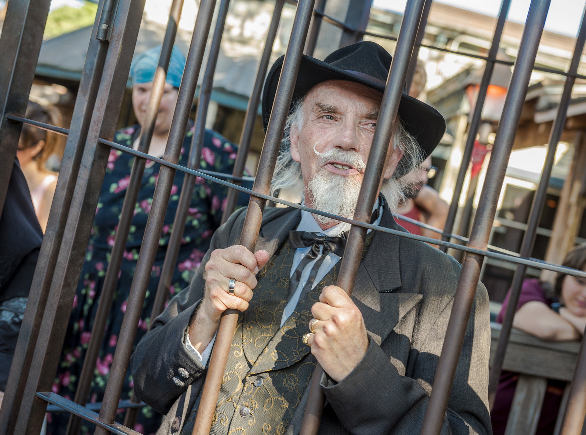 Even Judge Roy Bean was not immune to the Calico slammer.