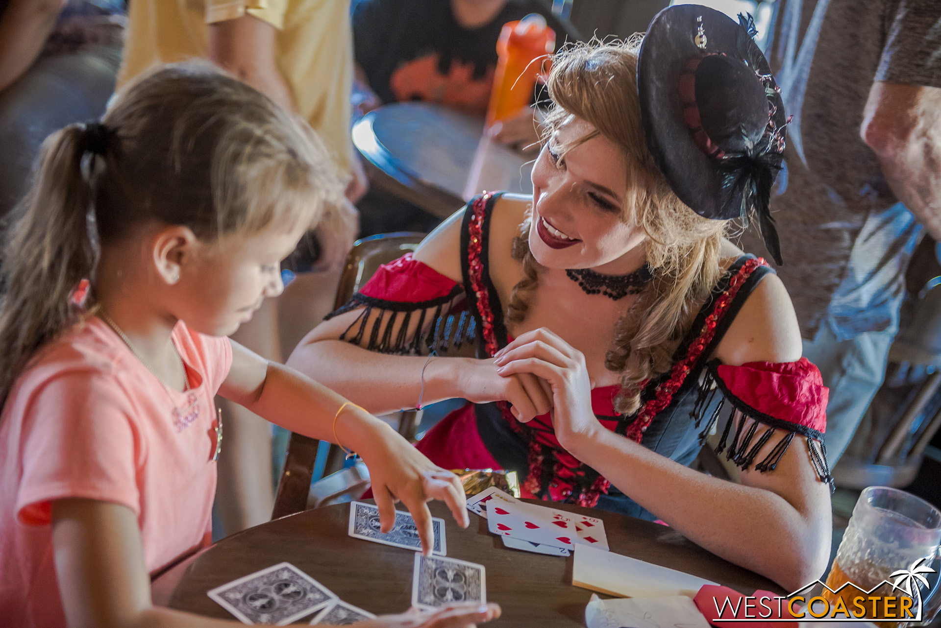 Card play happens at the Calico Saloon with Violet Lee as well.