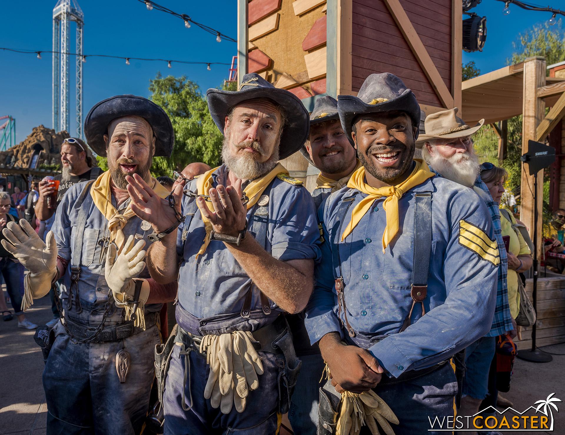 Ho hum, the Mad Bucks Gang got caught.
