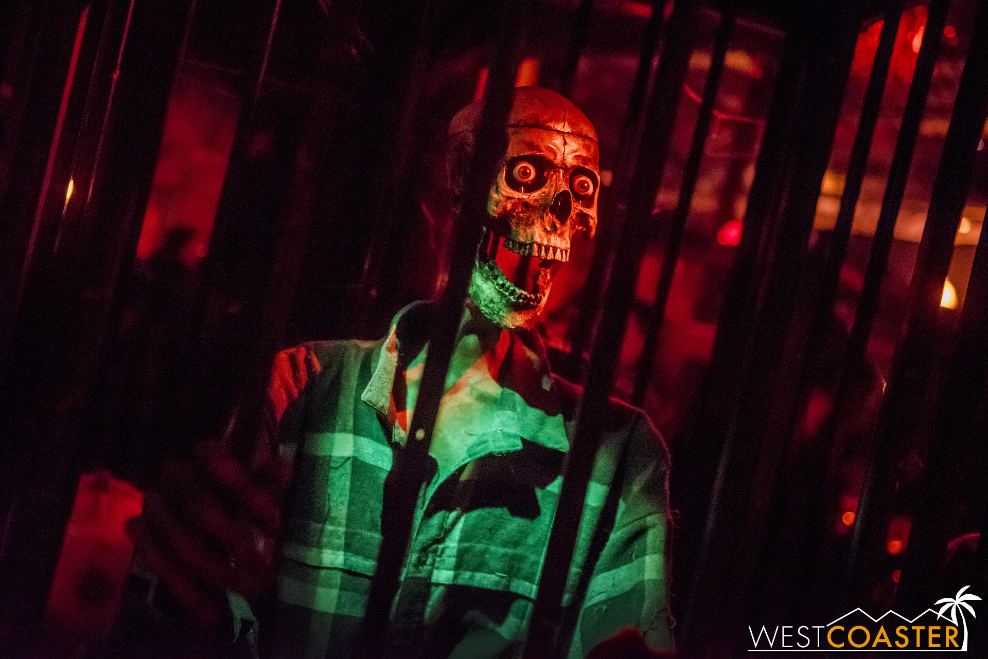 Animatronics, live actors, layered furnishings and set… Reign of Terror has it all.