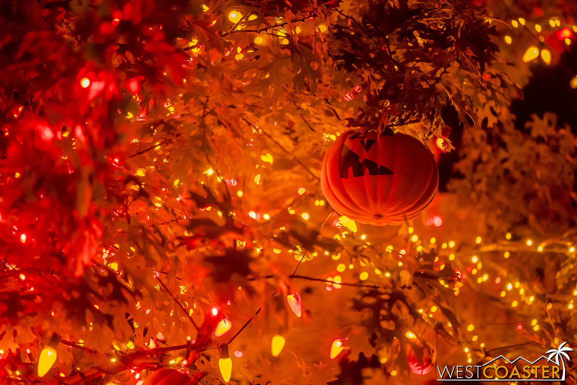 If there can be a Christmas tree, though, why not a Halloween tree?