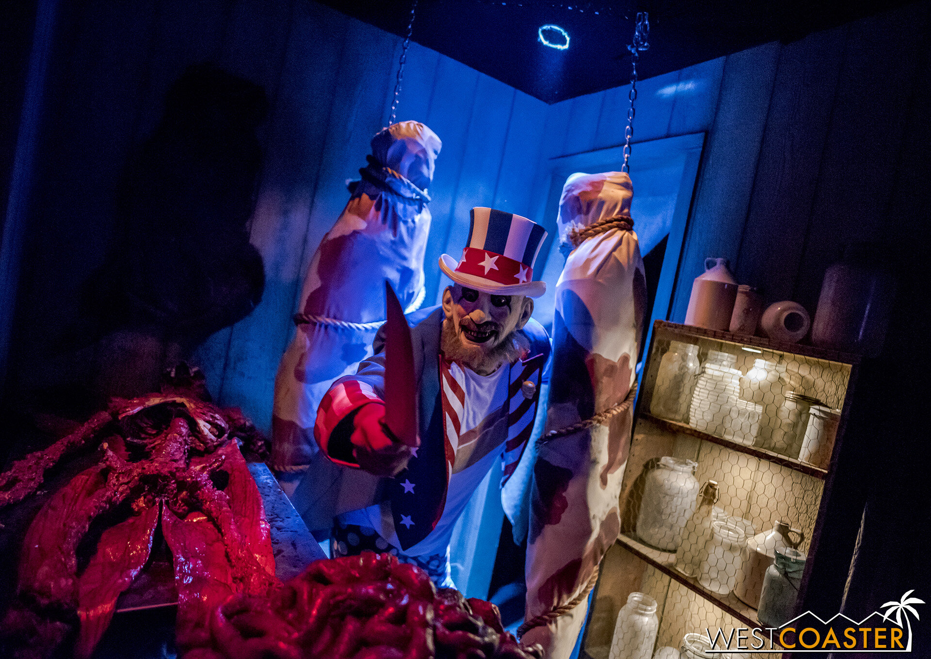 Captain Spaulding is back in this year's House of 1000 Corpse maze!