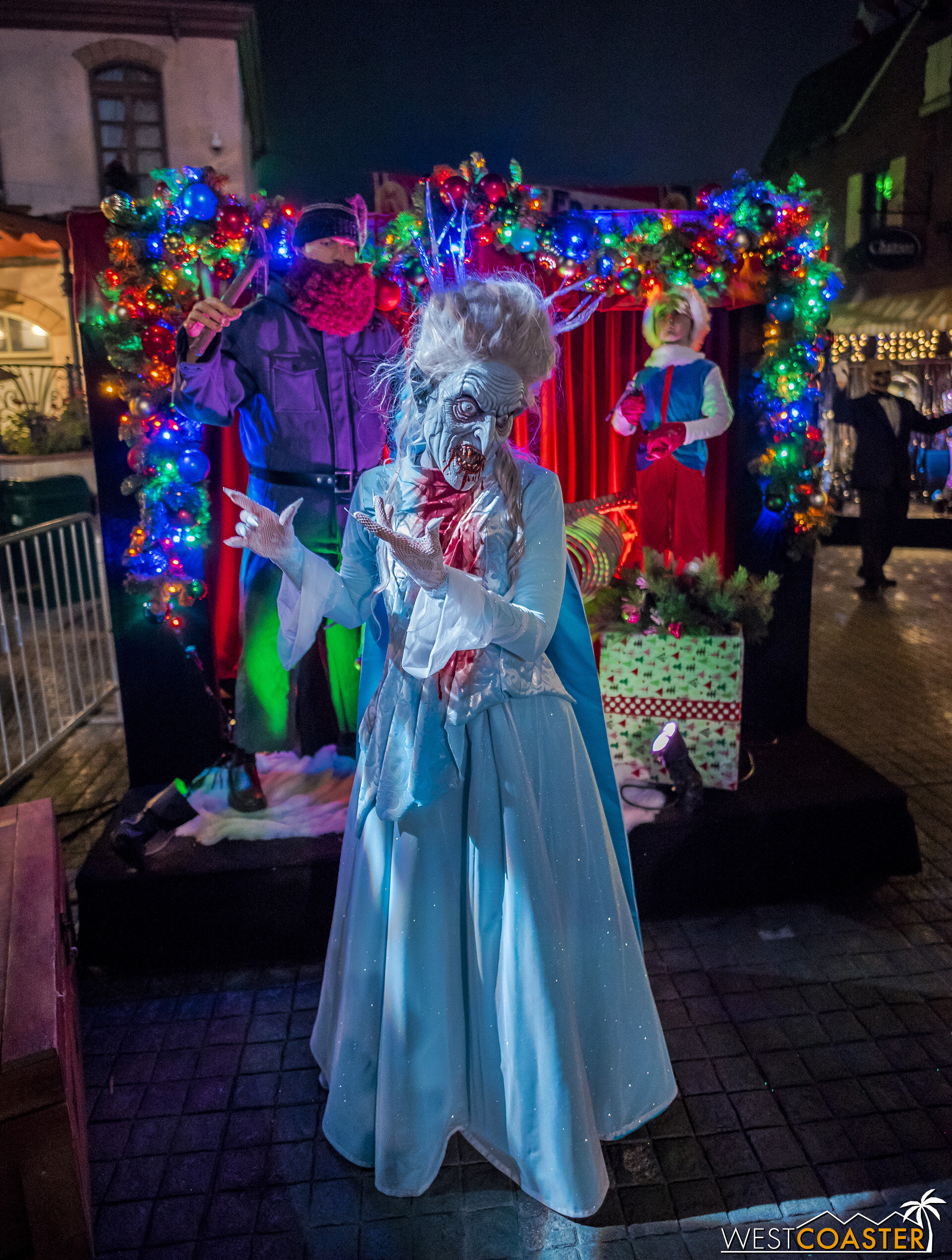 And you even get to meet Zombie Elsa!