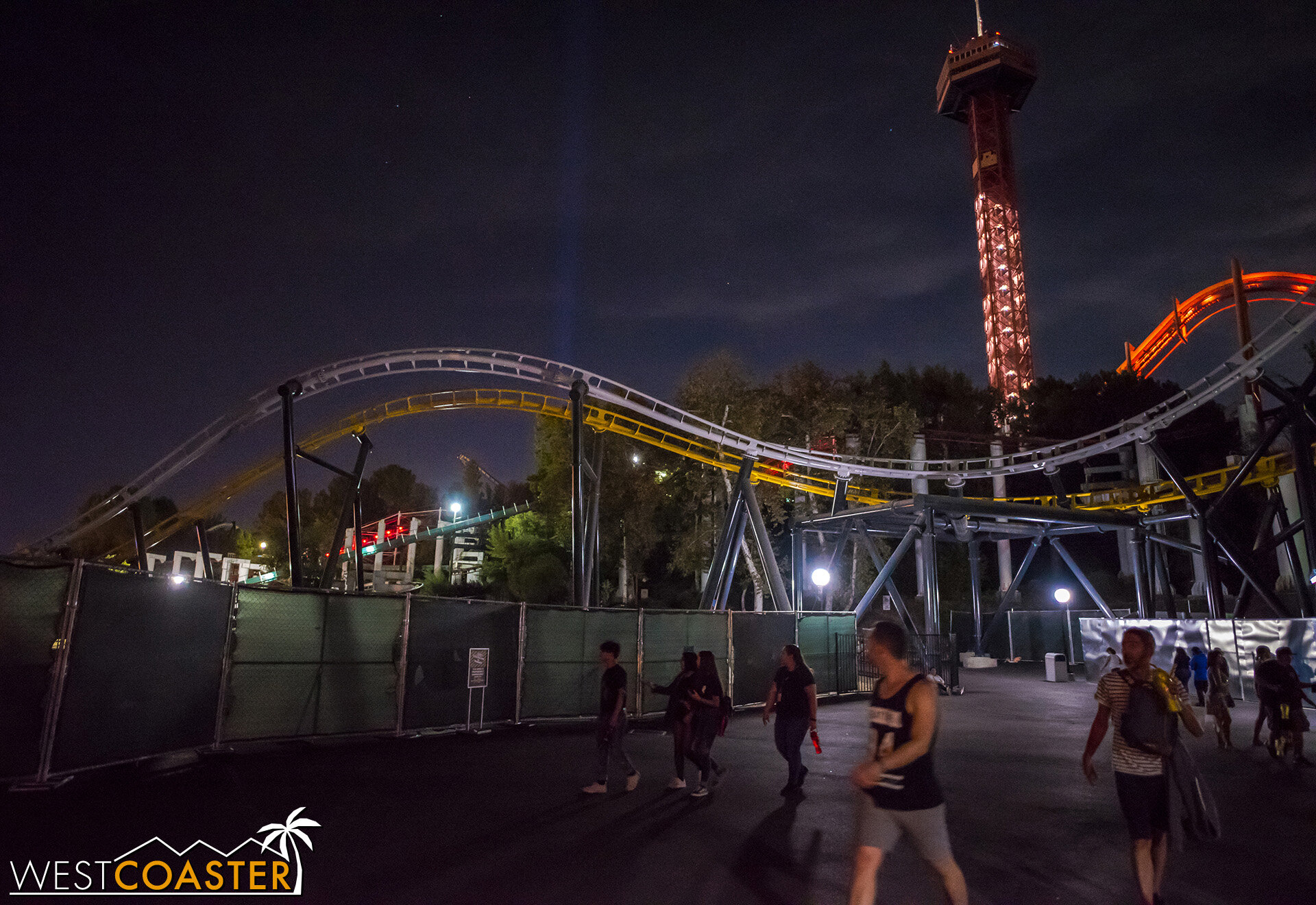 The coaster is actually supposed to open before the end of the year.  We swear!!  Or, well, Six Flags does.