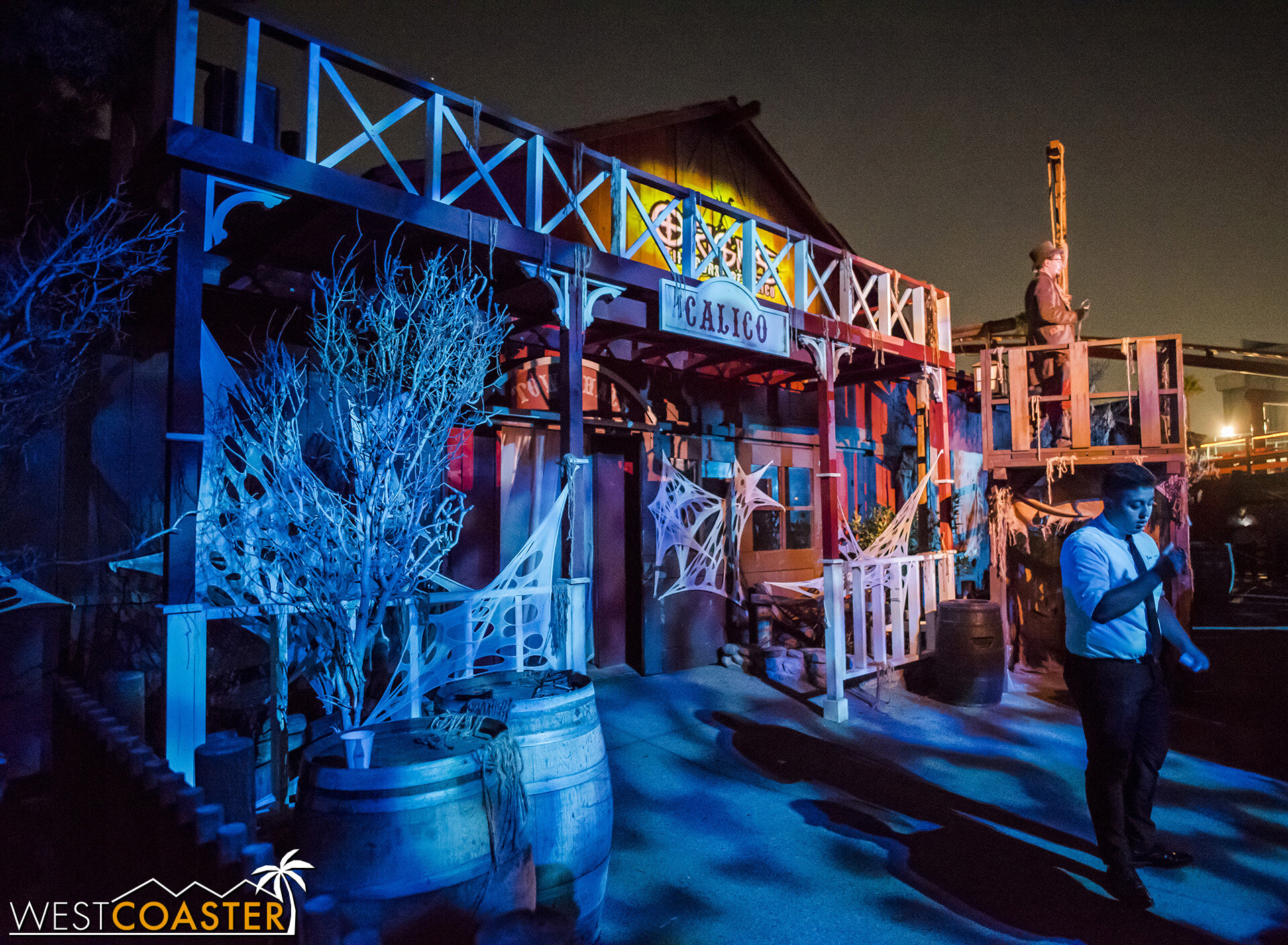 Origins: The Curse of Calico has transformed the Wilderness Dance Hall both inside and out!