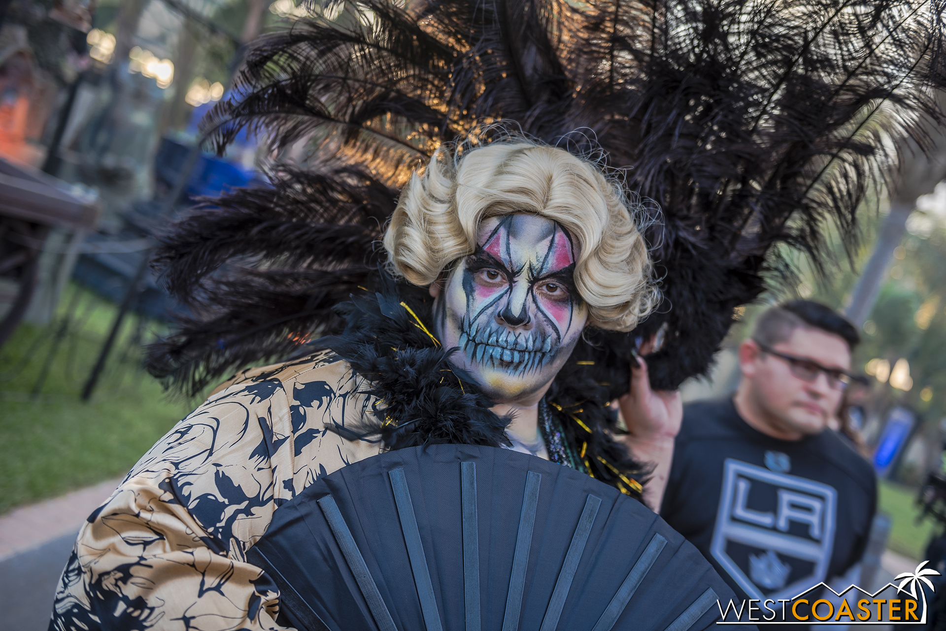 A variety of curious characters welcome guests to Dark Harbor.
